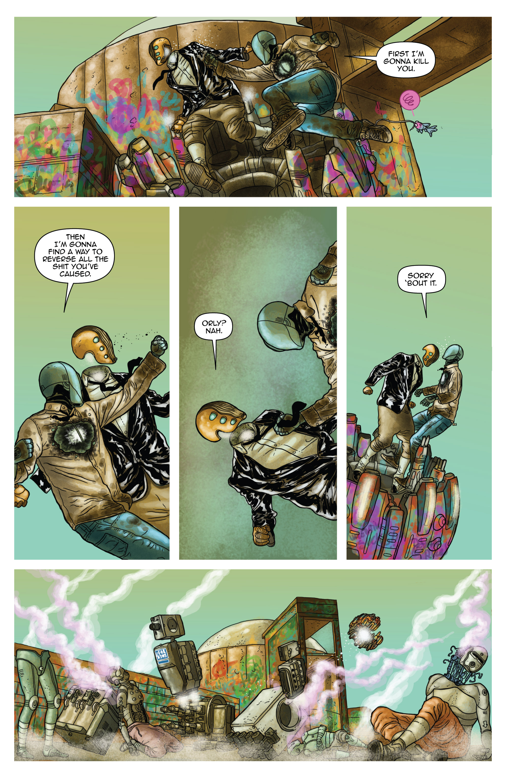 Read online D4VEocracy comic -  Issue #4 - 13