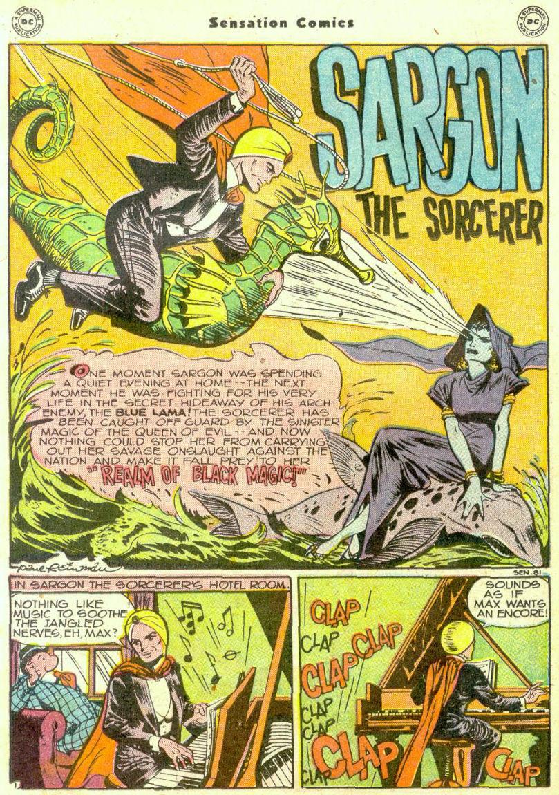 Read online Sensation (Mystery) Comics comic -  Issue #74 - 24