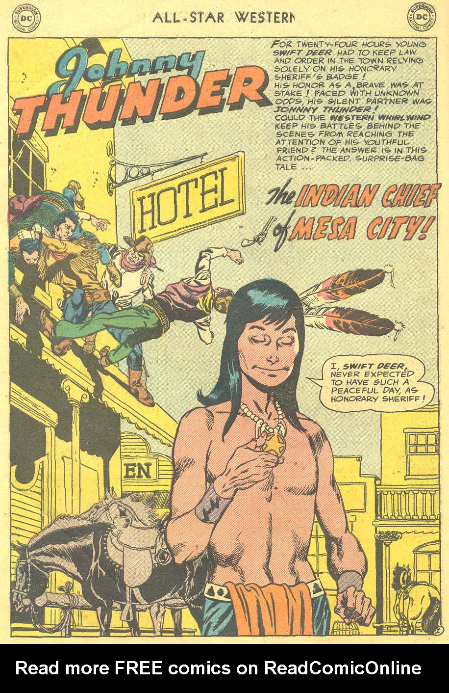 Read online All-Star Western (1951) comic -  Issue #88 - 10
