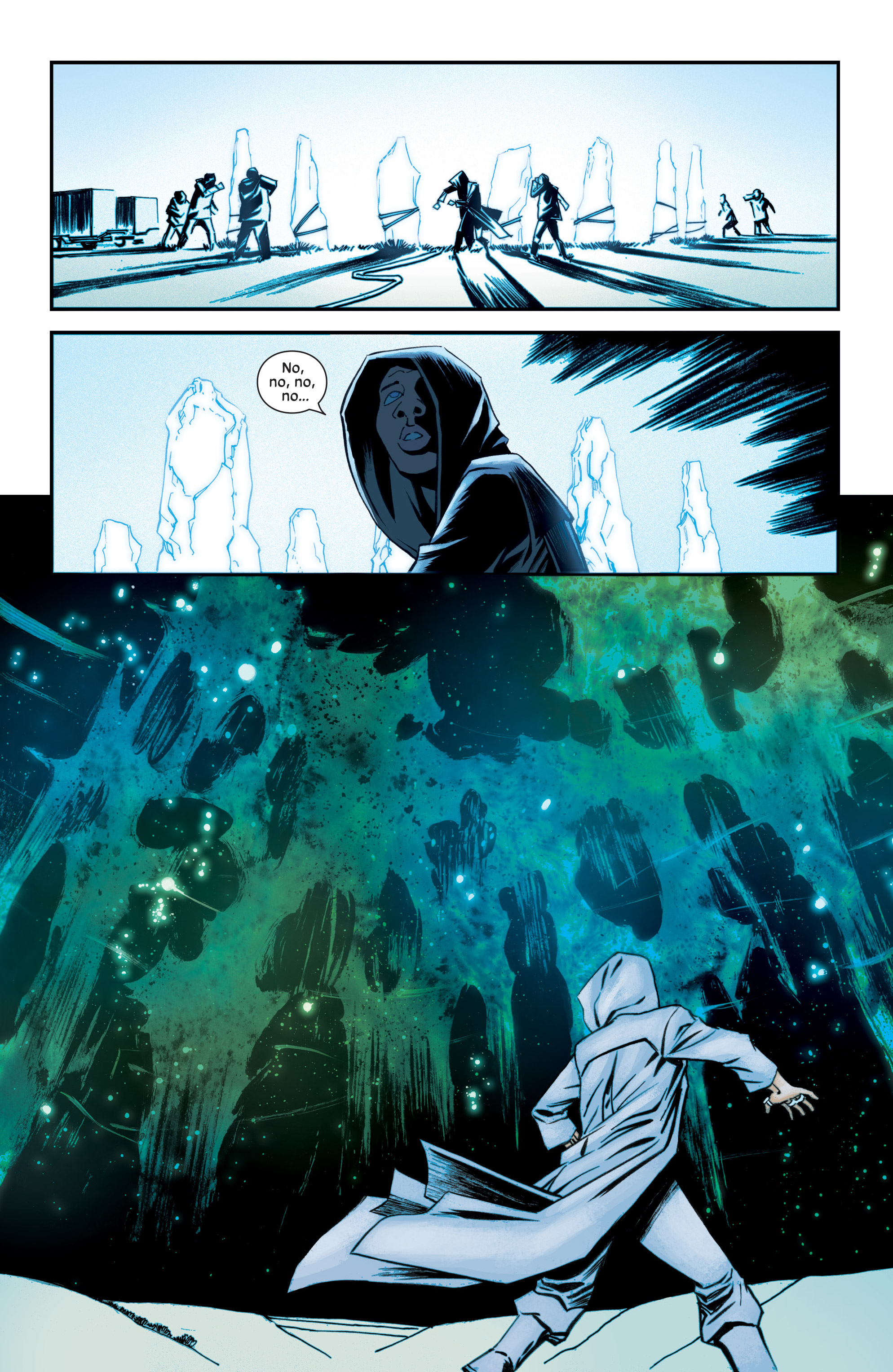 Read online Injection comic -  Issue #13 - 16