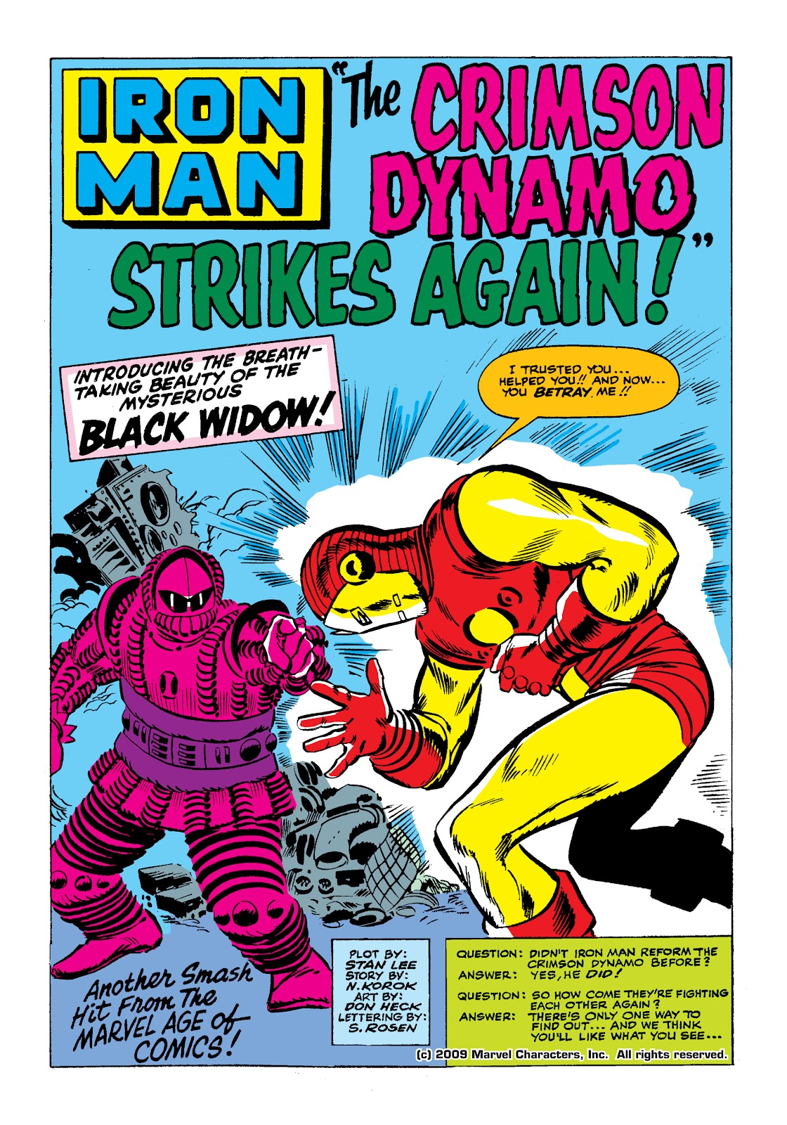 Read online Marvel Masterworks: The Invincible Iron Man comic -  Issue # TPB 2 (Part 1) - 18