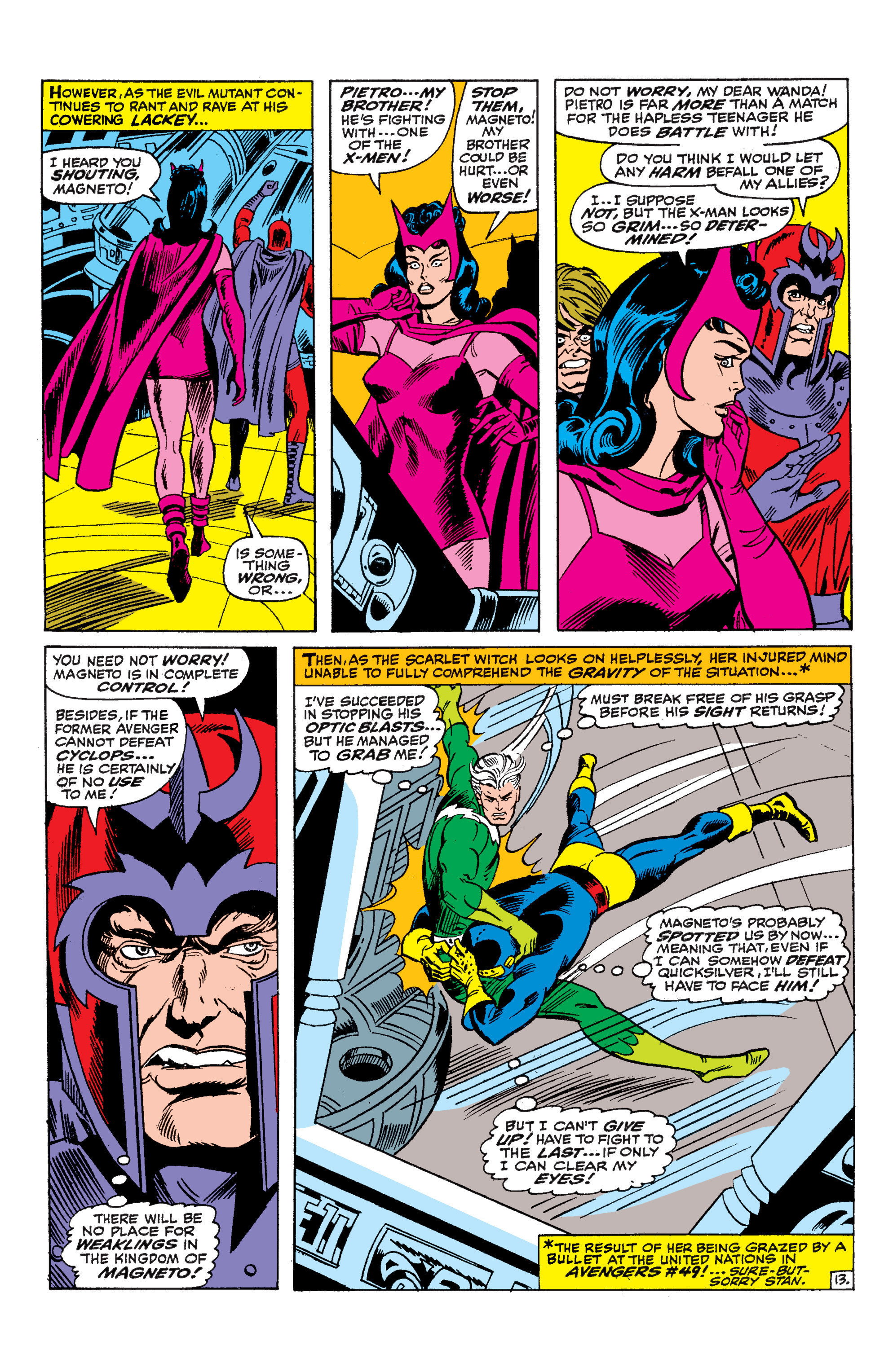 Uncanny X-Men (1963) 45 Page 13