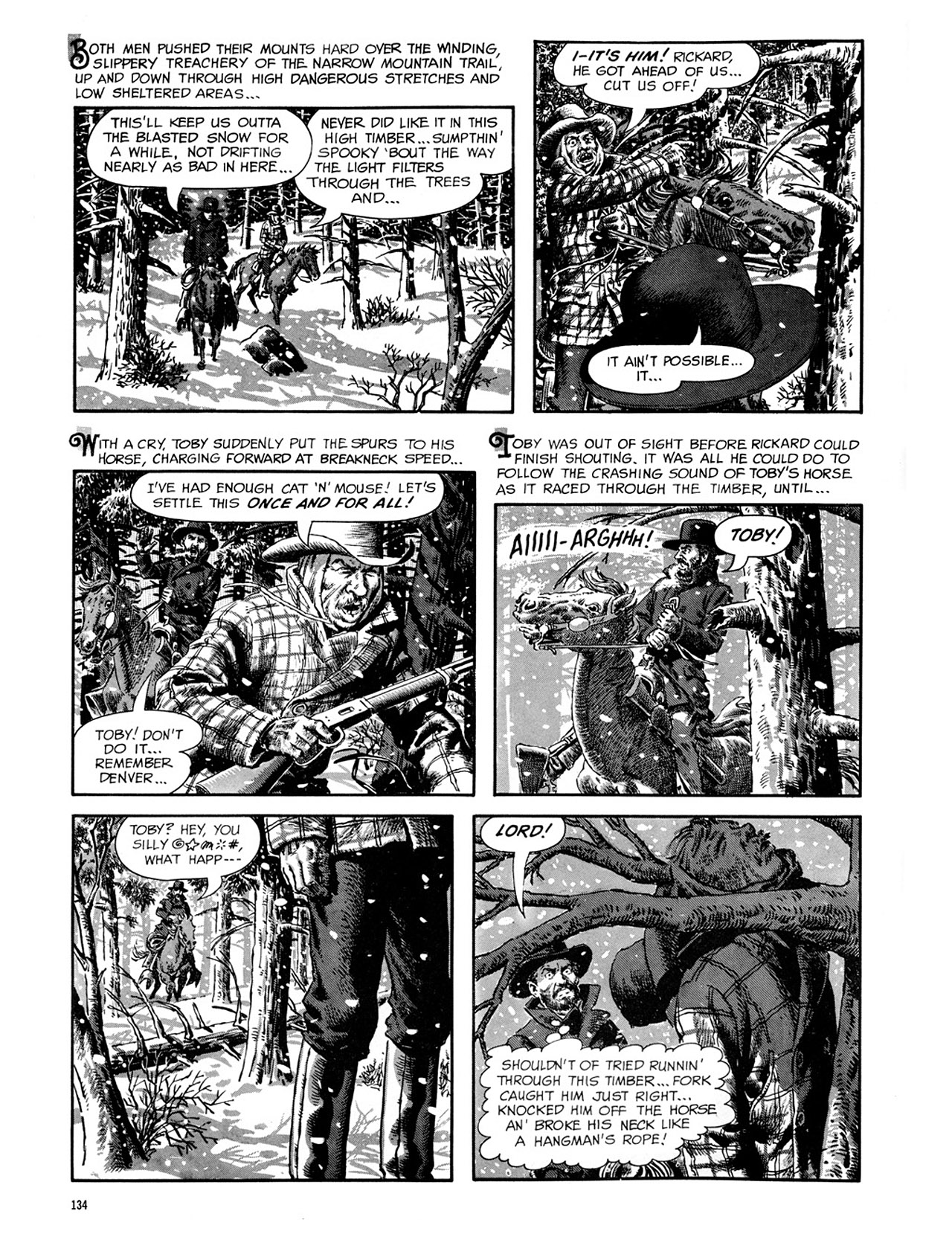 Read online Eerie Archives comic -  Issue # TPB 2 - 135