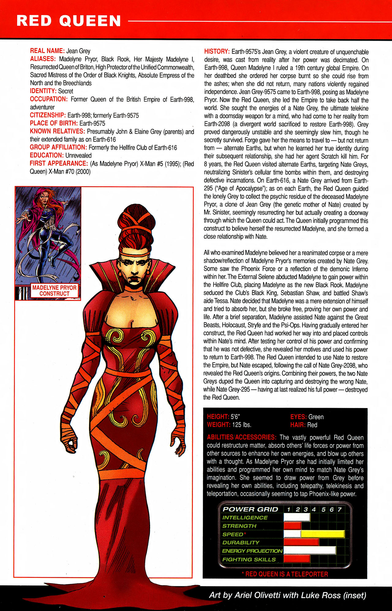 Read online All-New Official Handbook of the Marvel Universe A to Z comic -  Issue #9 - 18