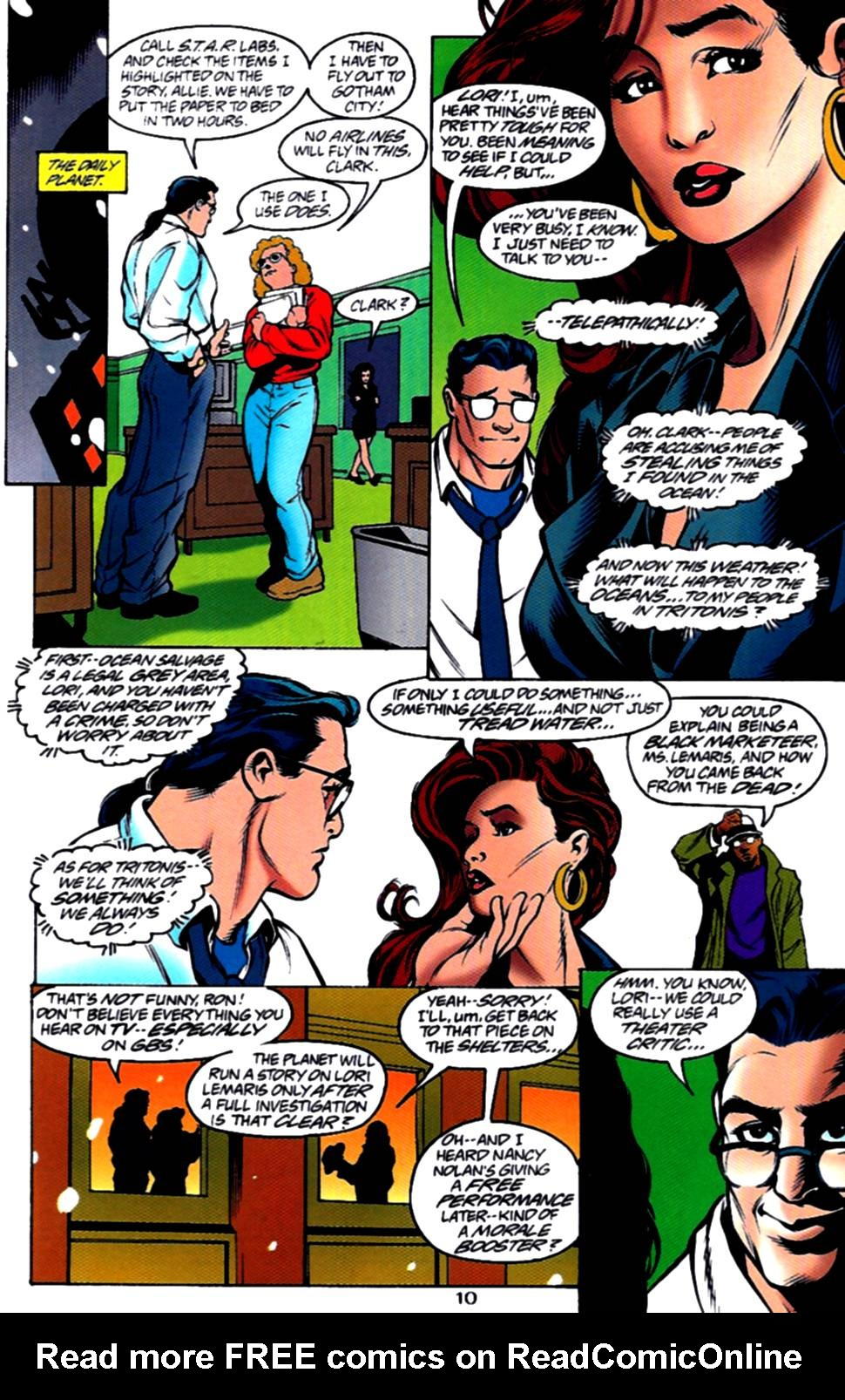 Read online Adventures of Superman (1987) comic -  Issue #540 - 11