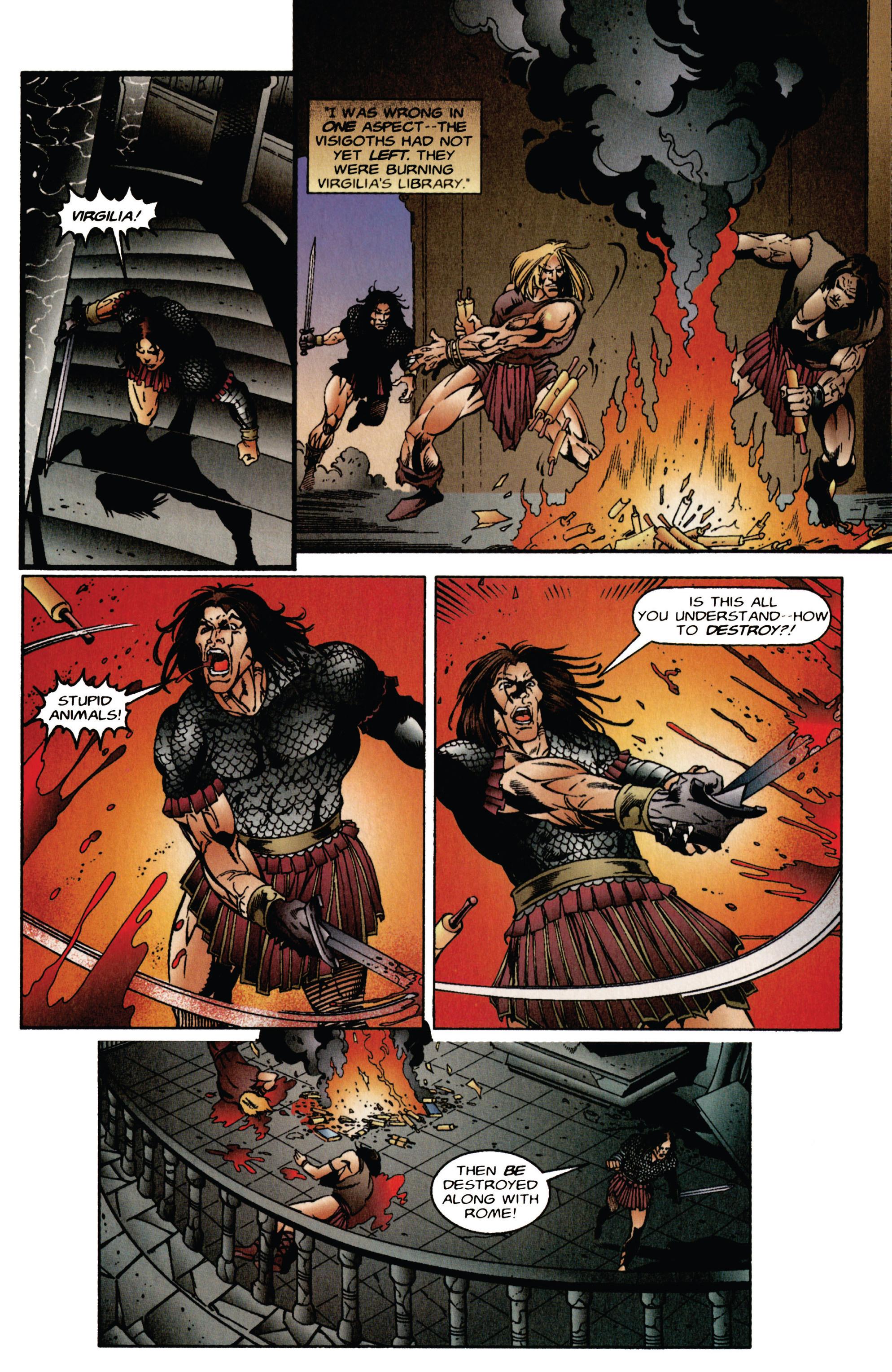 Read online Eternal Warrior (1992) comic -  Issue #41 - 4