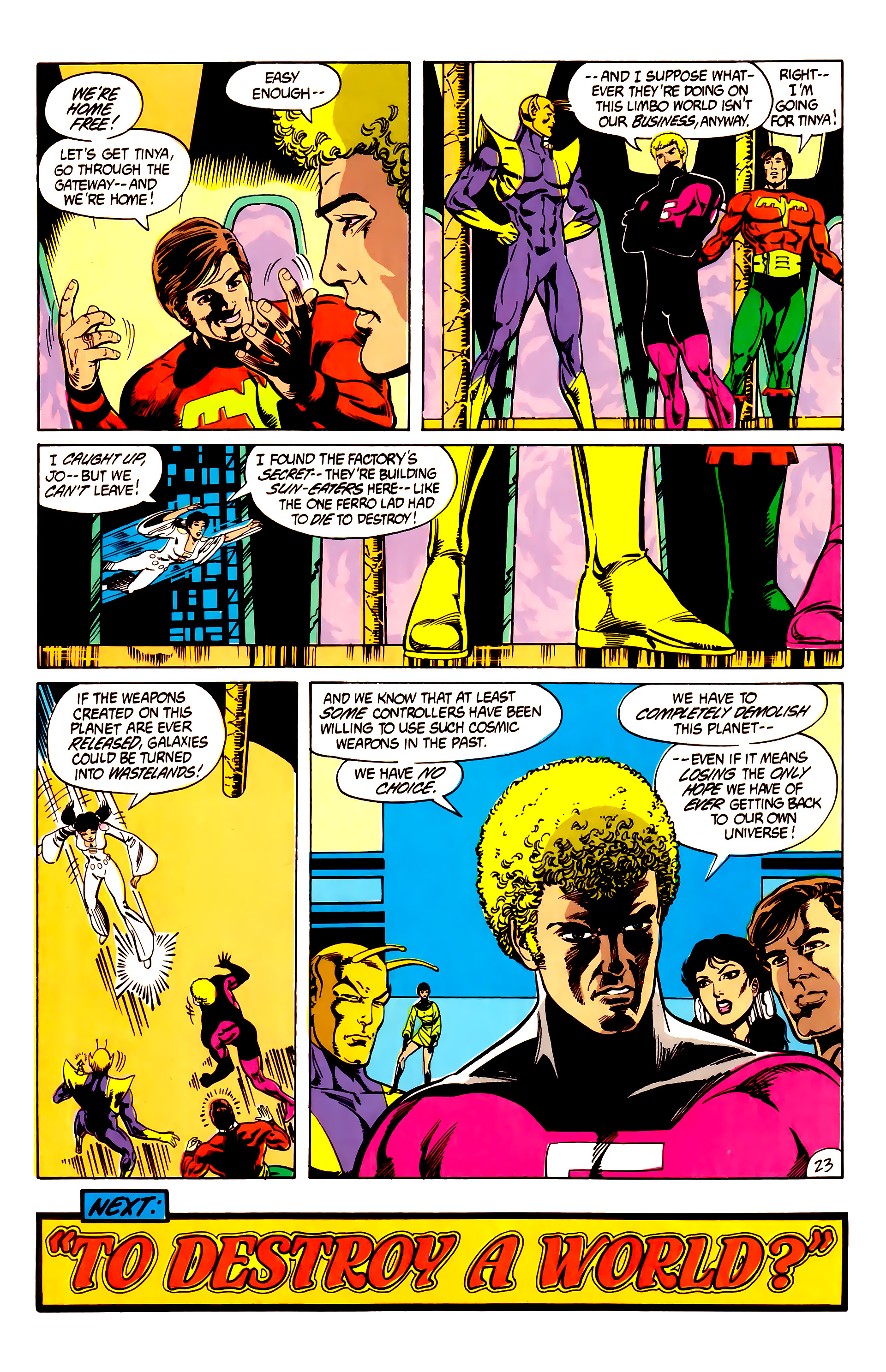 Legion of Super-Heroes (1984) 7 Page 24