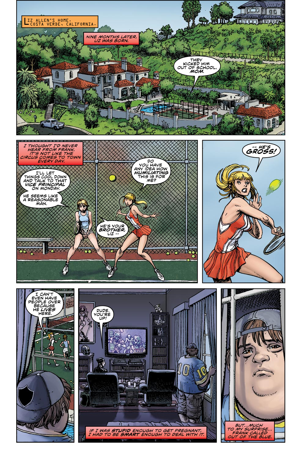 Read online Ultimate X comic -  Issue #4 - 7
