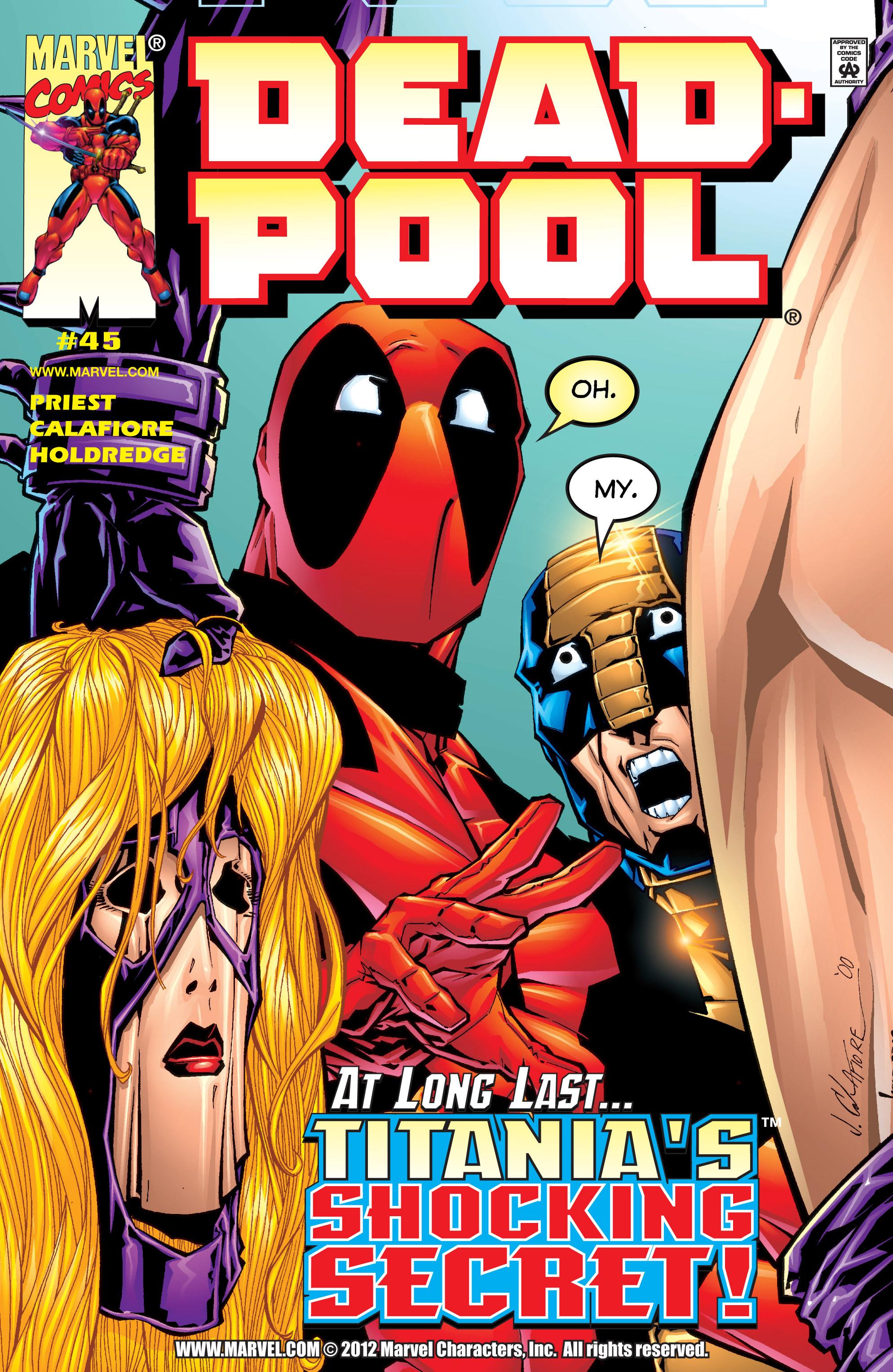 Deadpool (1997) 45 Page 1