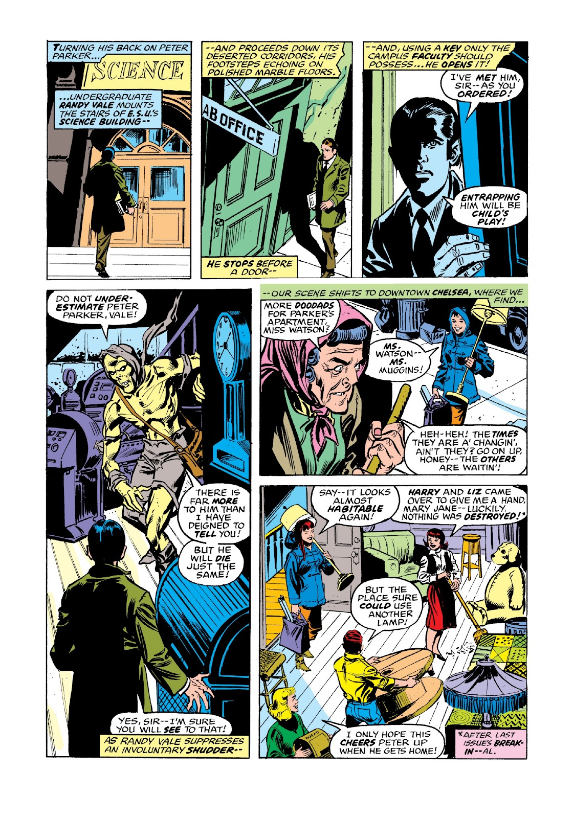 Read online Marvel Masterworks: The Spectacular Spider-Man comic -  Issue # TPB 2 (Part 3) - 54