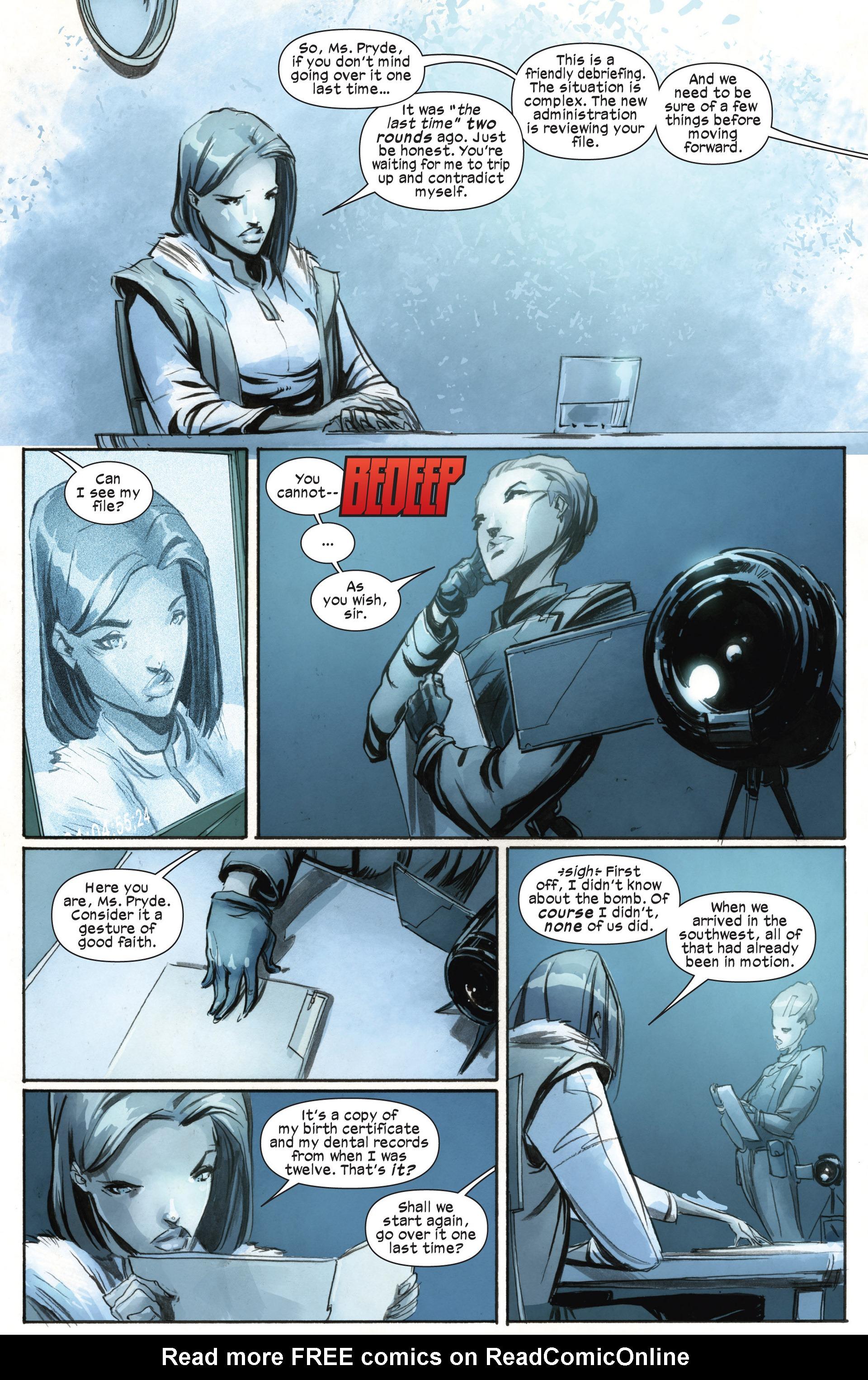 Read online Ultimate Comics X-Men comic -  Issue #18.1 - 3