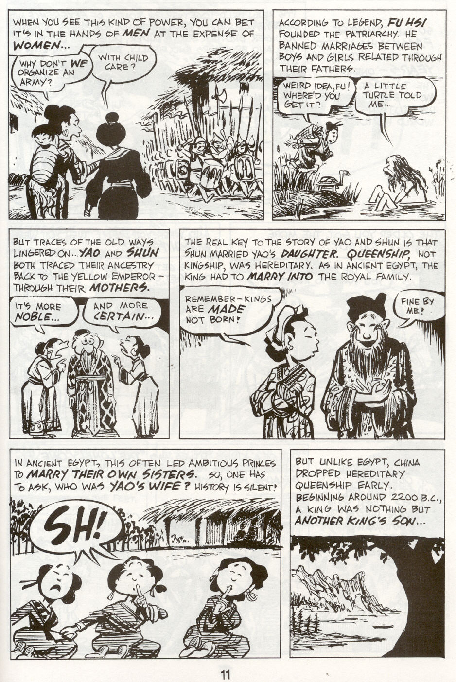 Read online The Cartoon History of the Universe comic -  Issue #9 - 14