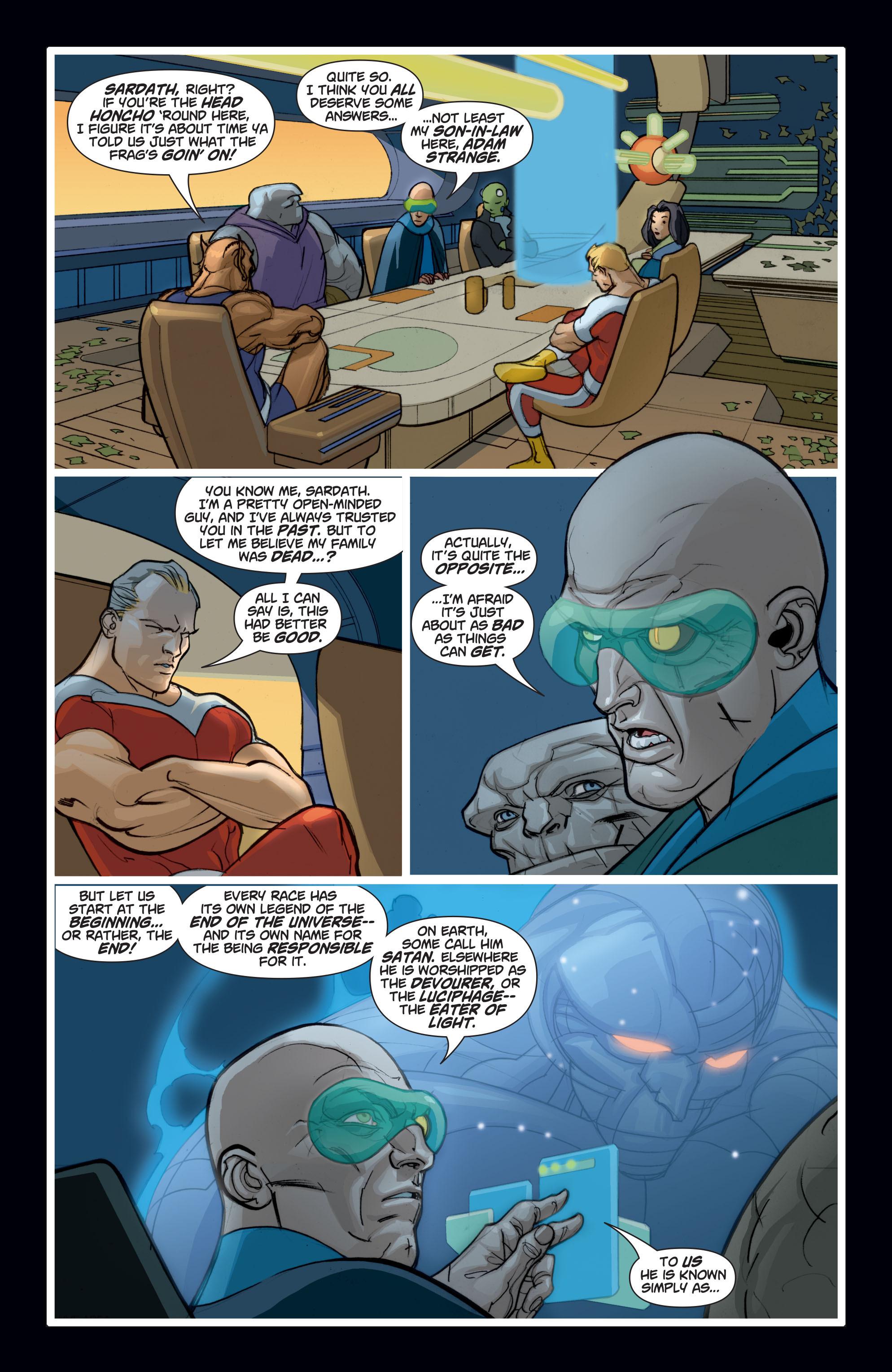 Read online Adam Strange (2004) comic -  Issue #7 - 6