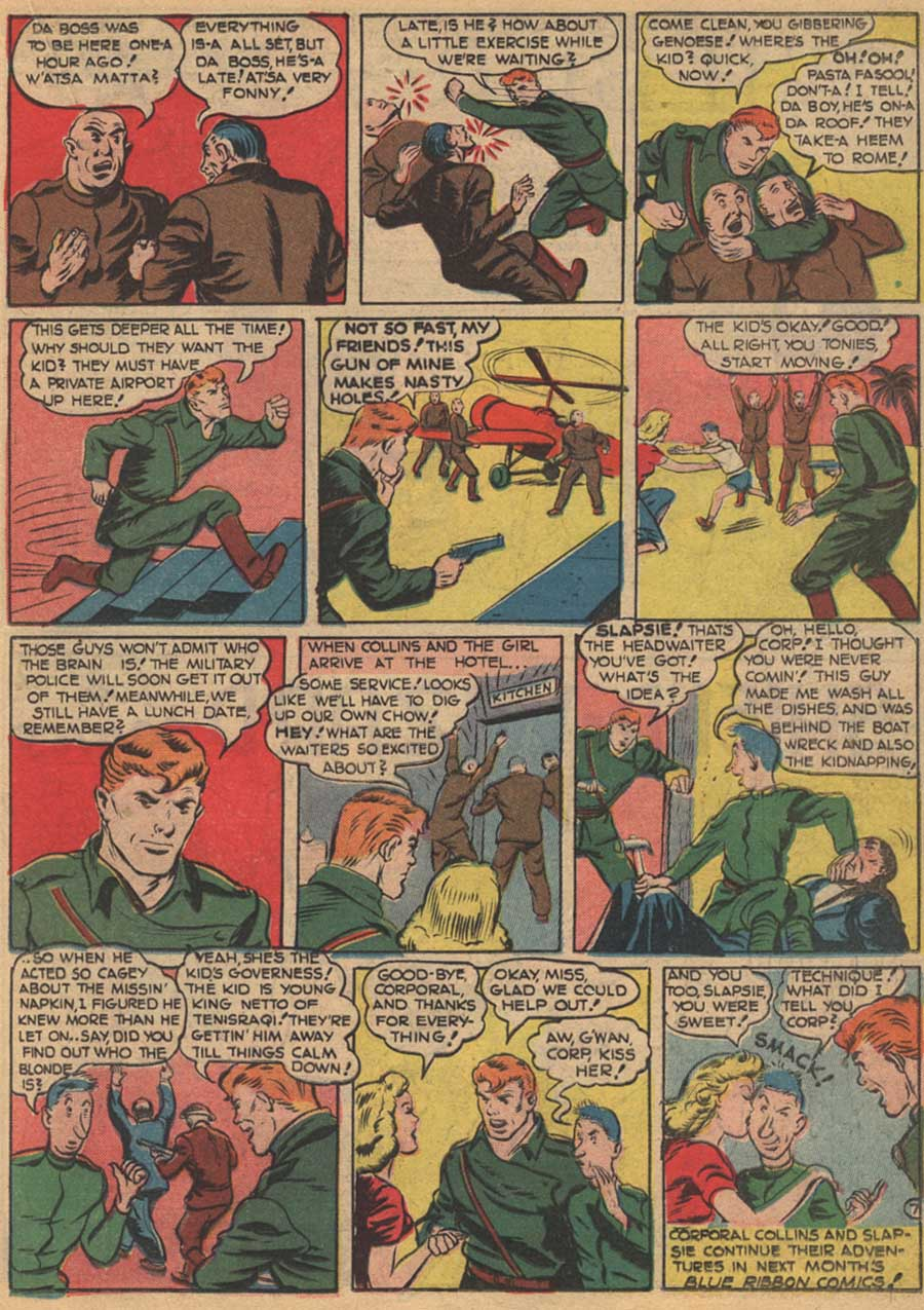 Blue Ribbon Comics (1939) issue 16 - Page 37