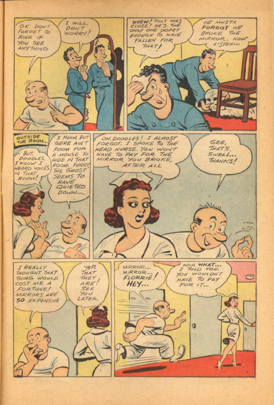 Read online Super-Magician Comics comic -  Issue #38 - 41