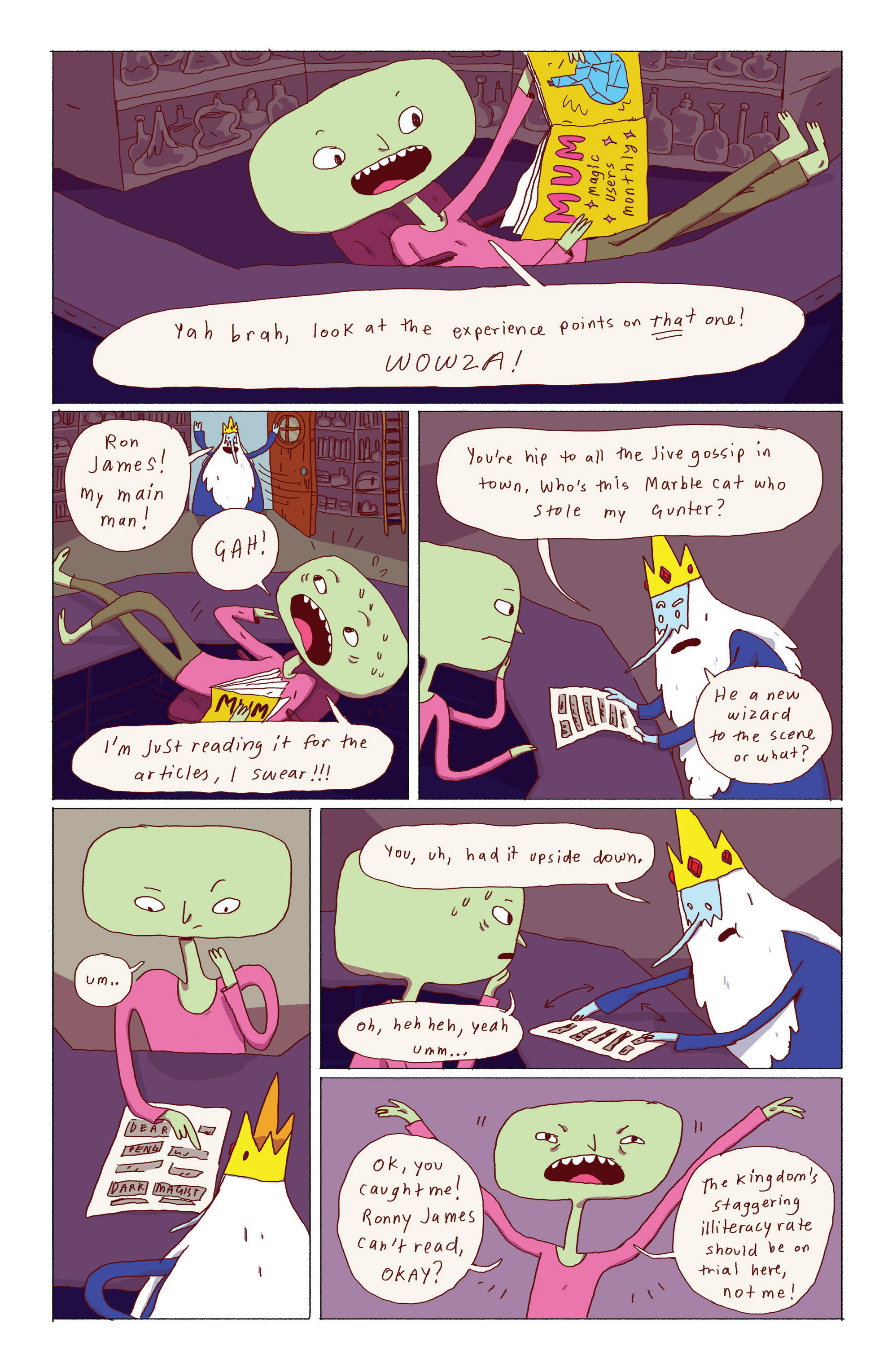Read online Adventure Time: Ice King comic -  Issue #1 - 19