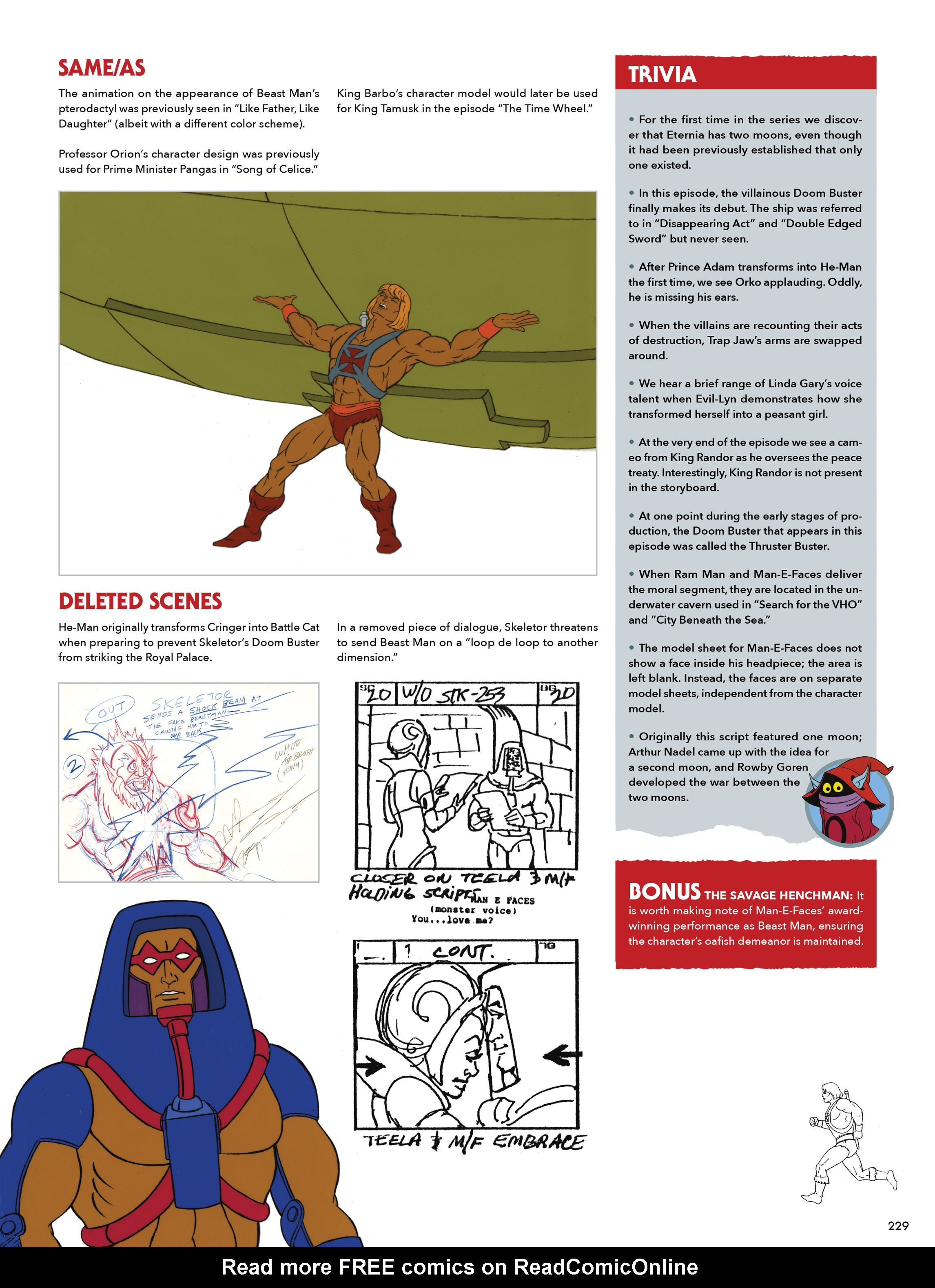 Read online He-Man and She-Ra: A Complete Guide to the Classic Animated Adventures comic -  Issue # TPB (Part 2) - 30