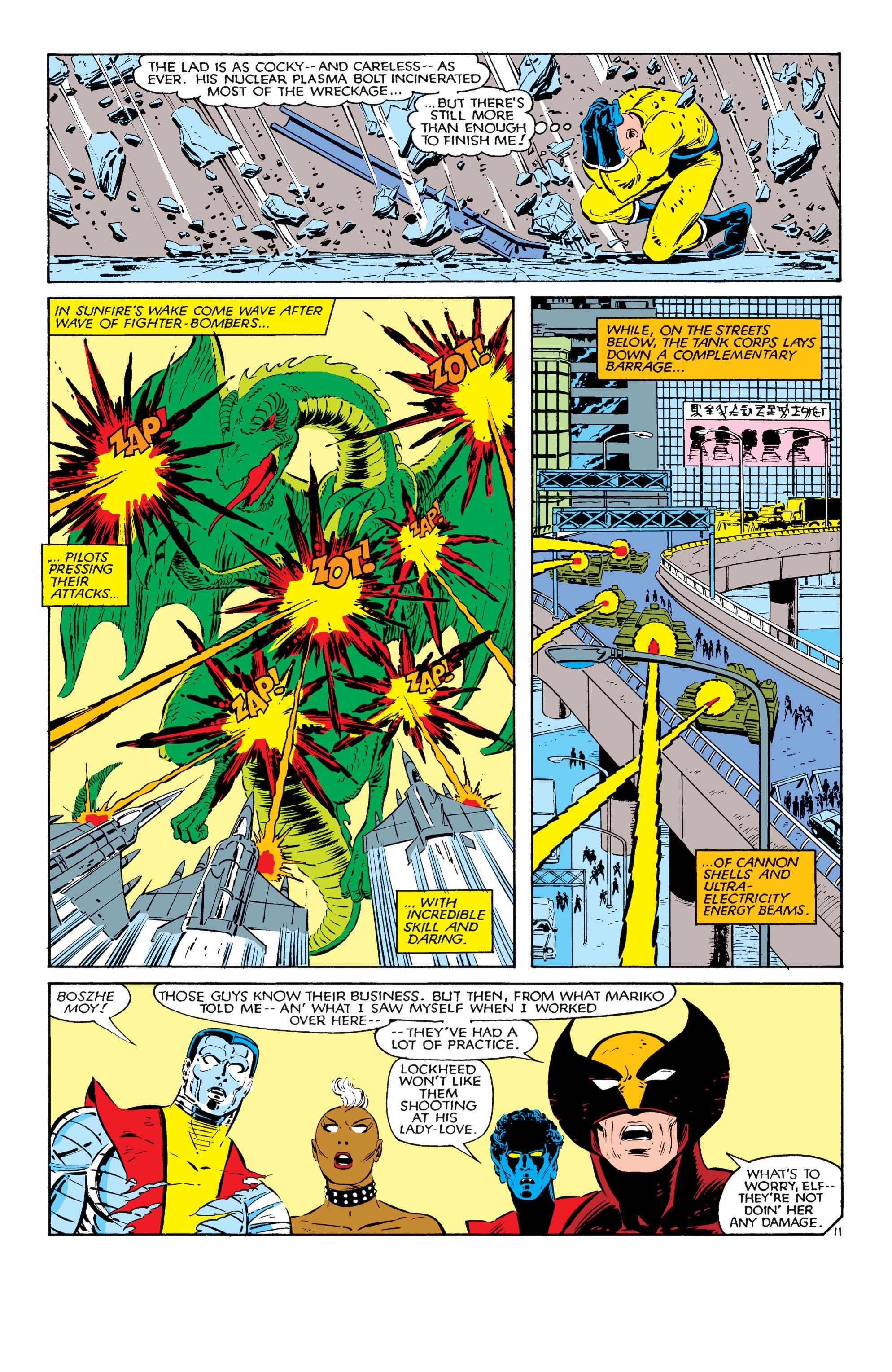 Read online Uncanny X-Men (1963) comic -  Issue #181 - 11