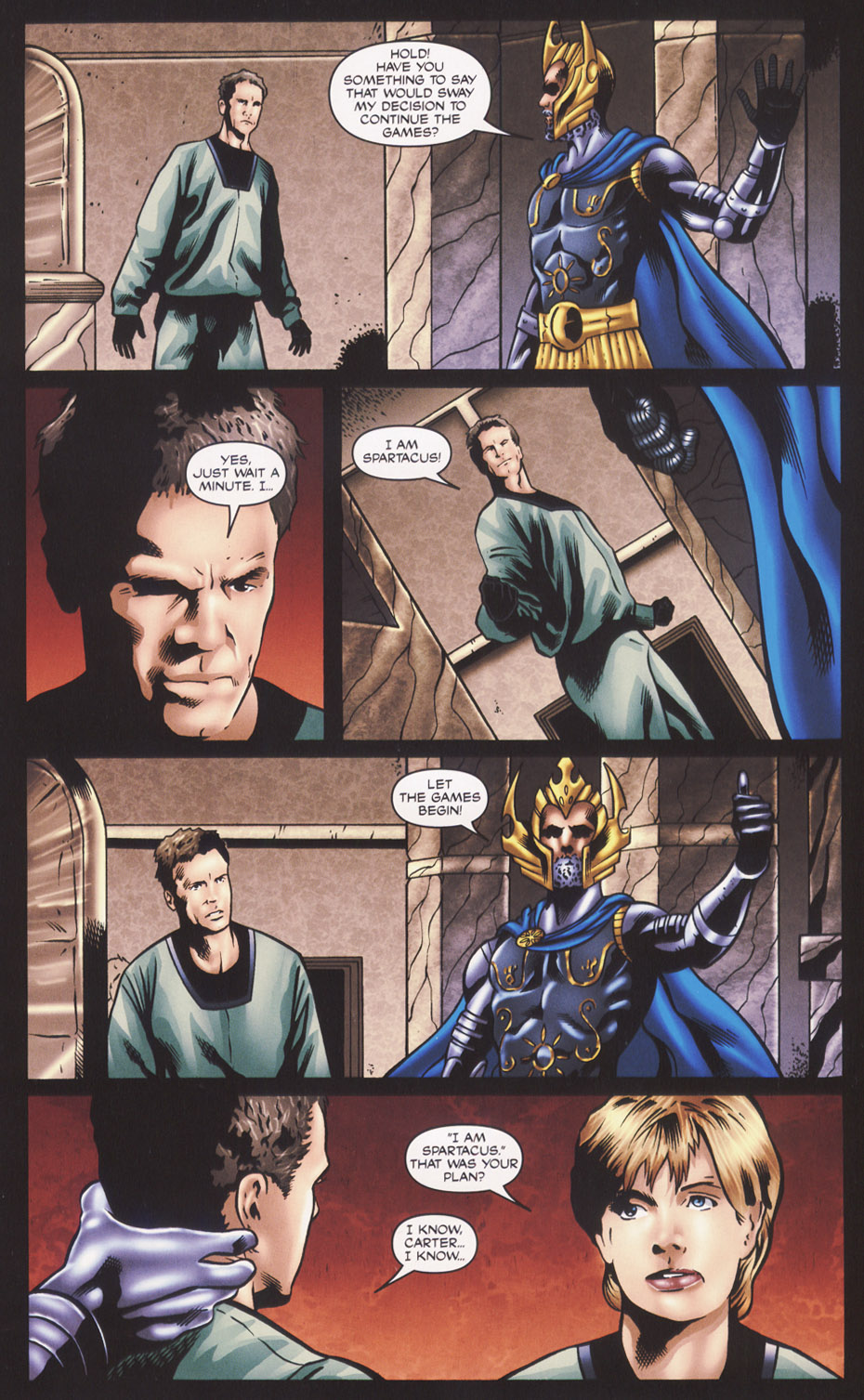 Read online Stargate SG-1: Fall of Rome comic -  Issue #2 - 23