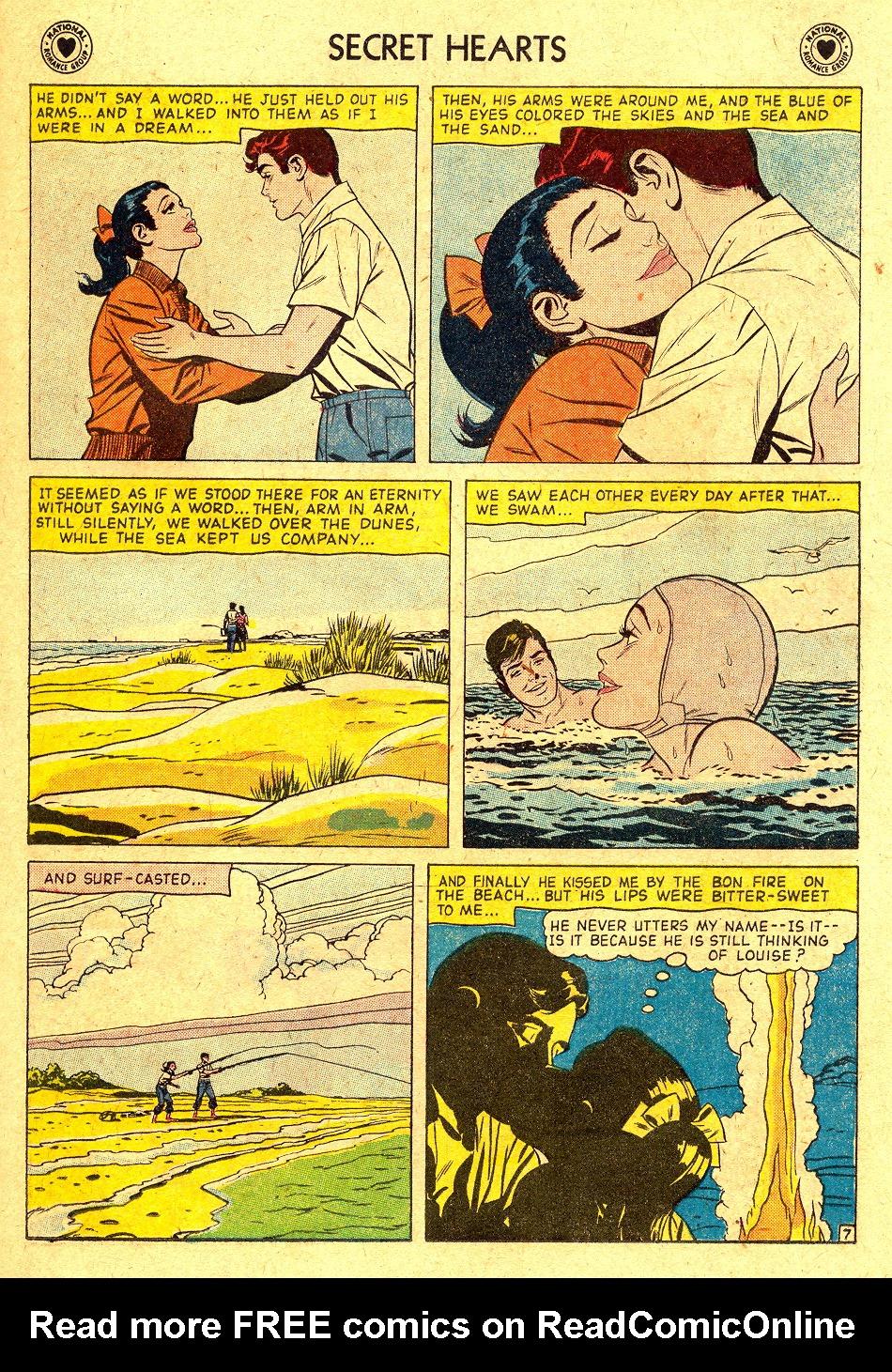 Read online Secret Hearts comic -  Issue #45 - 23
