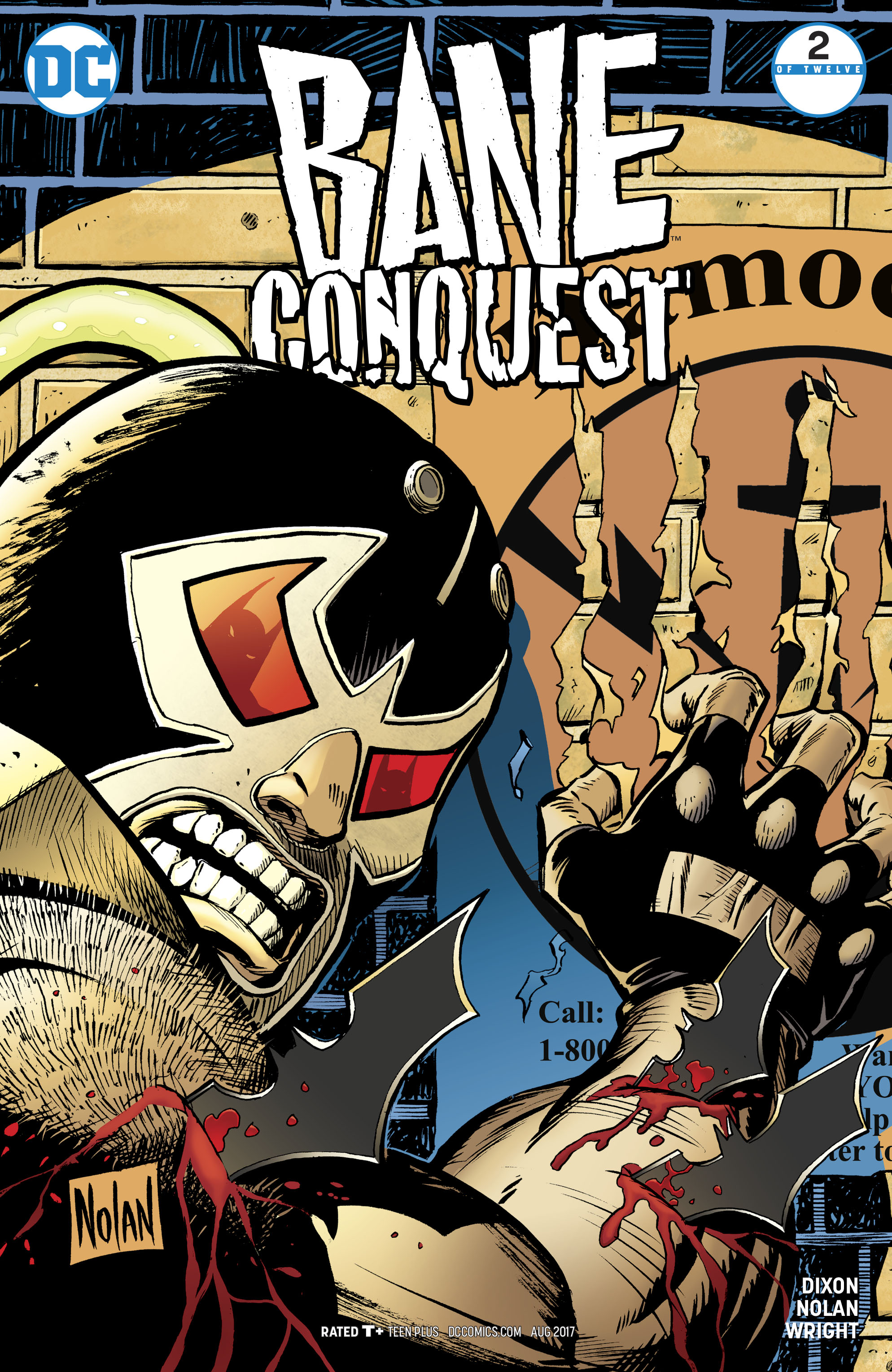 Read online Bane: Conquest comic -  Issue #2 - 1