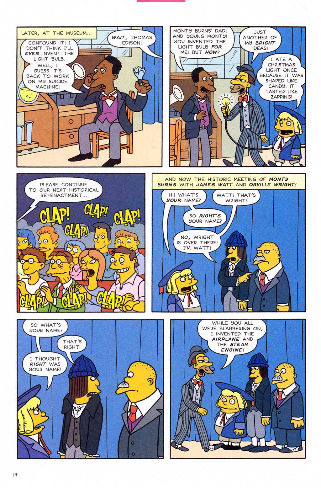 Read online Simpsons Comics comic -  Issue #109 - 15