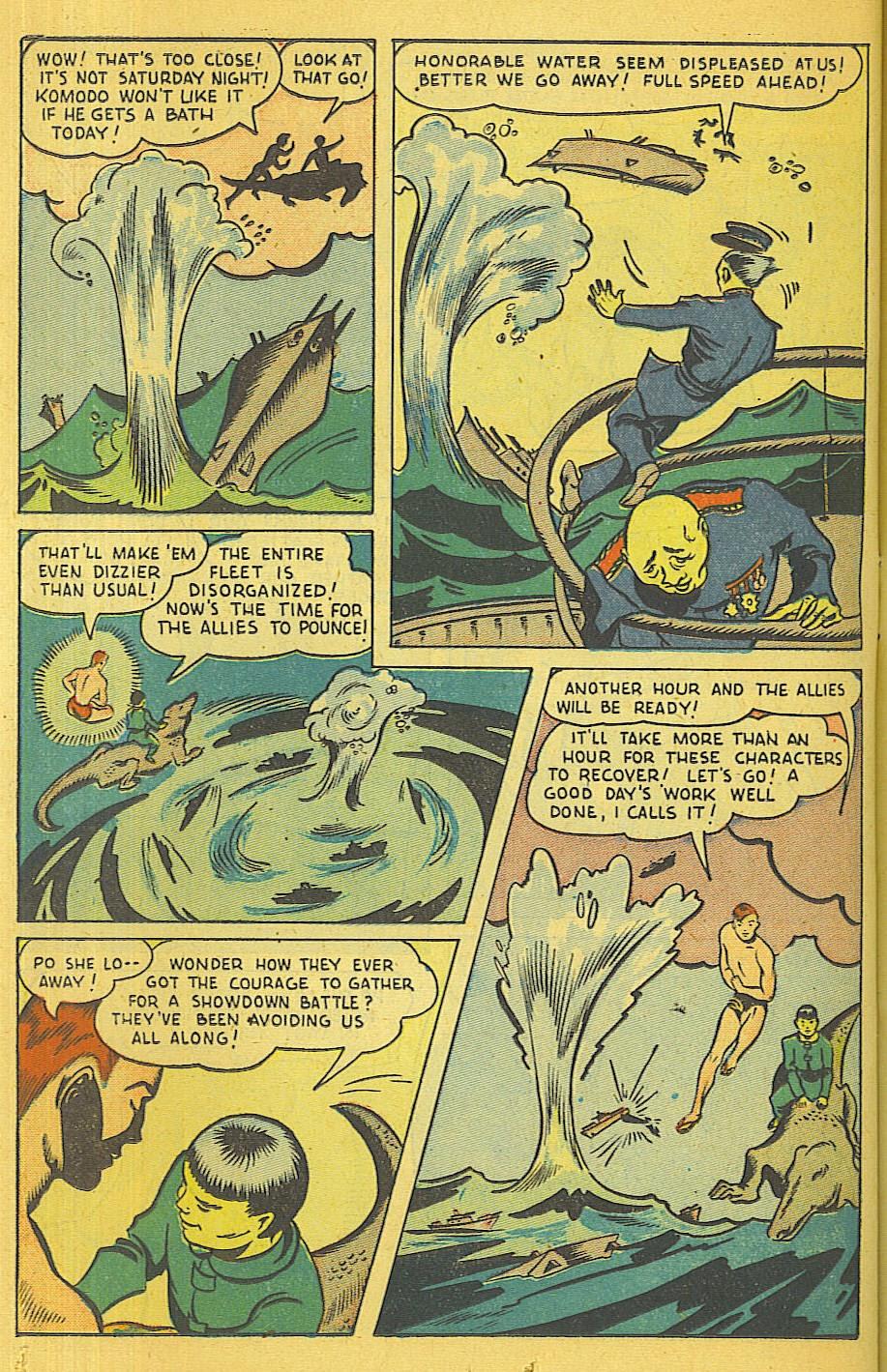Read online Super-Magician Comics comic -  Issue #39 - 33