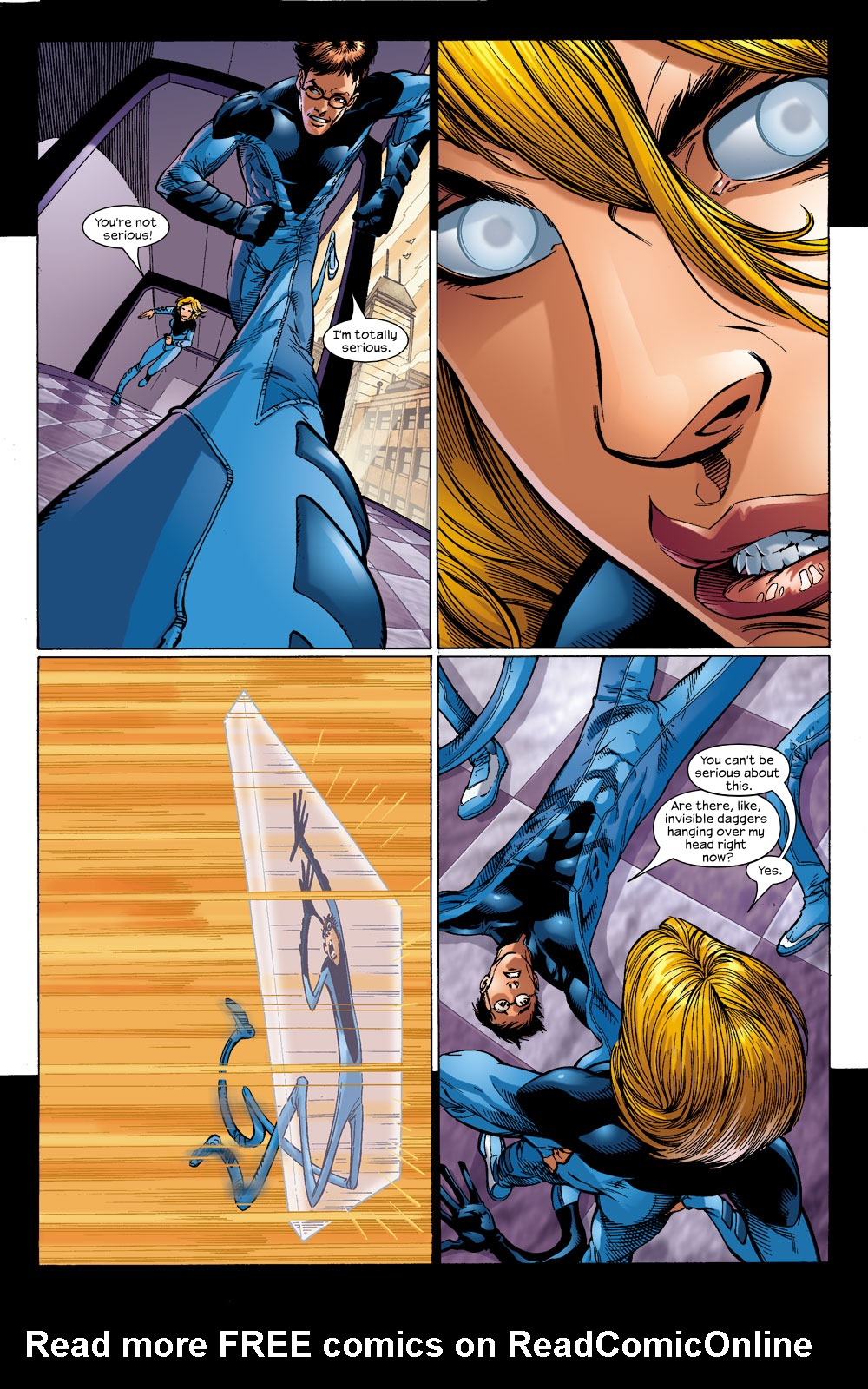 Read online Ultimate Fantastic Four (2004) comic -  Issue #14 - 3