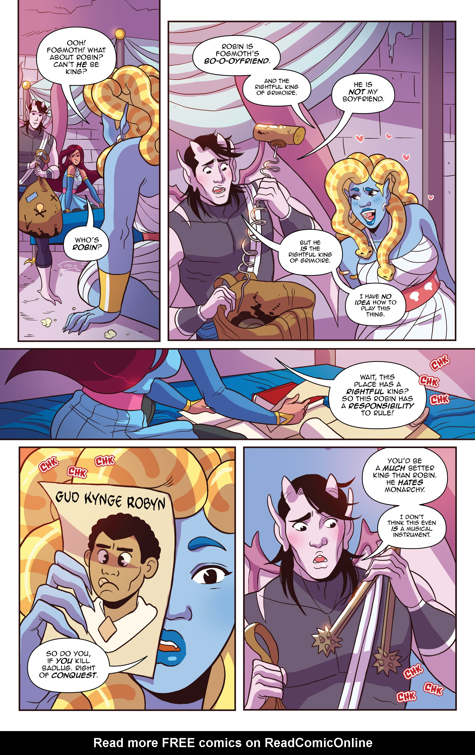 Read online Another Castle comic -  Issue #3 - 14