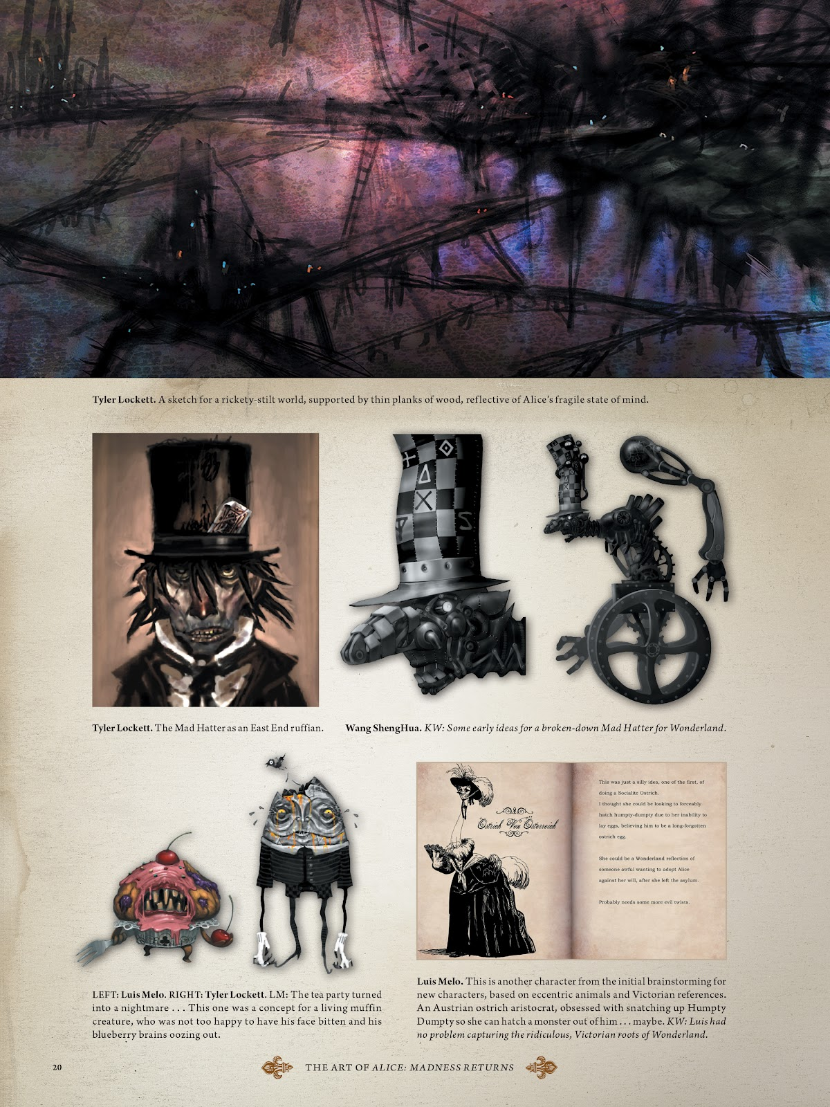 Read online The Art of Alice: Madness Returns comic -  Issue # TPB (Part 1) - 21