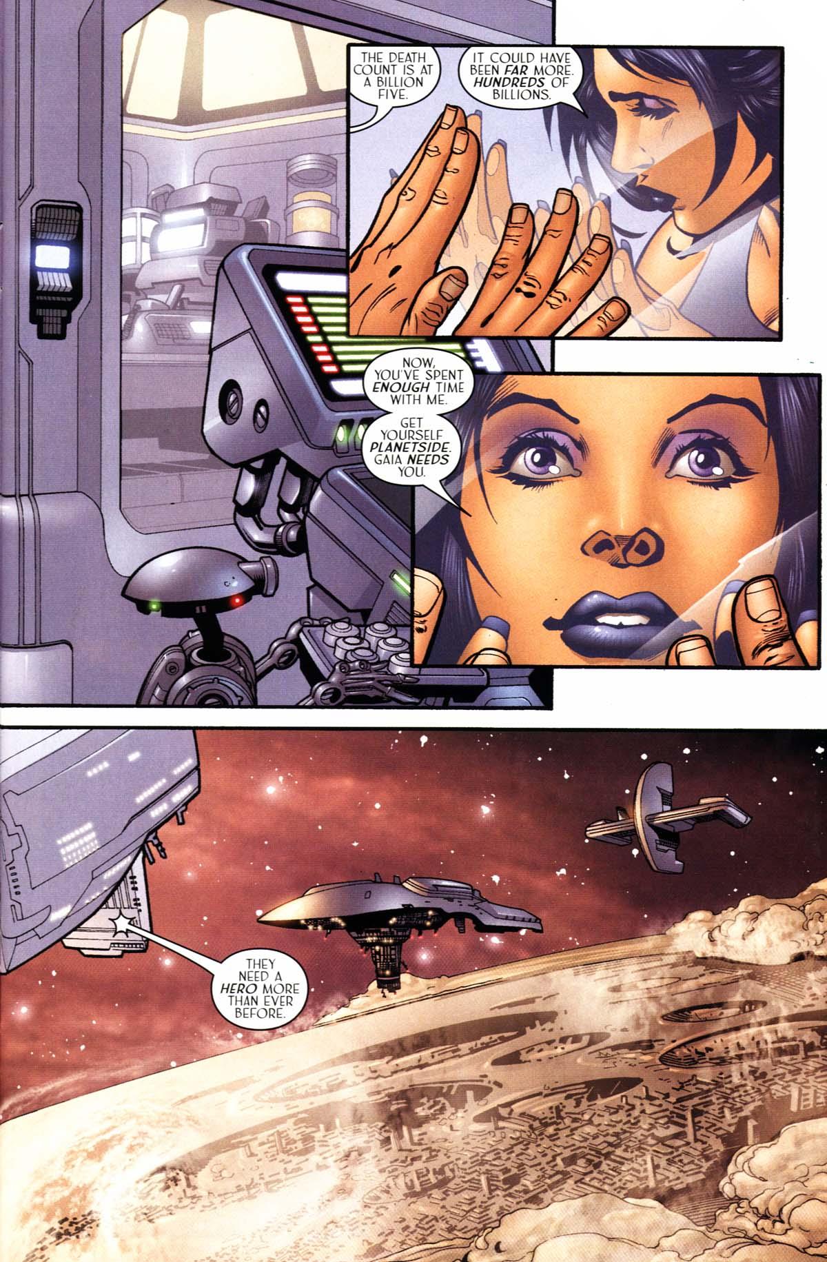 Read online Sigil (2000) comic -  Issue #24 - 6