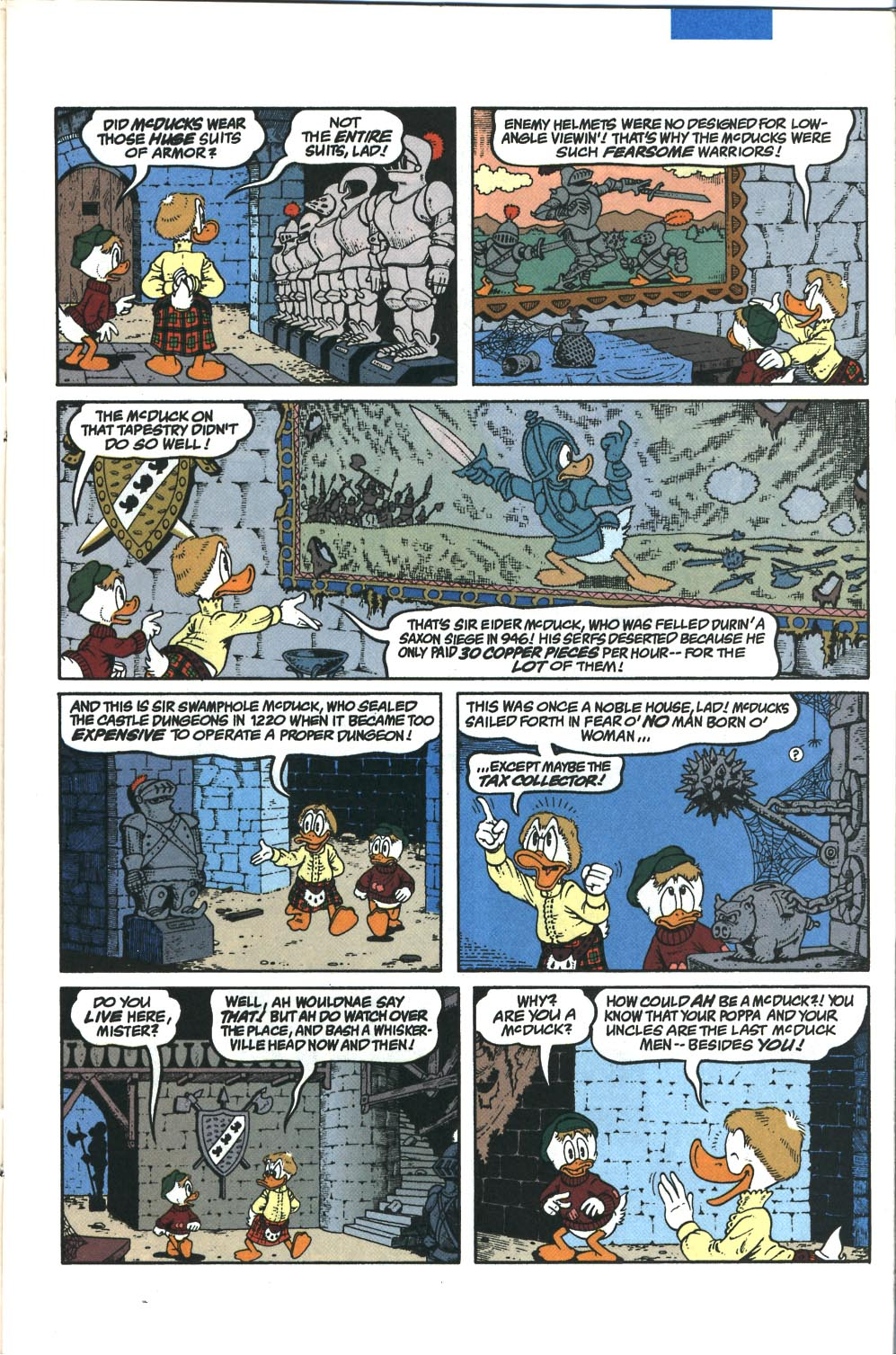 Read online Uncle Scrooge (1953) comic -  Issue #285 - 12
