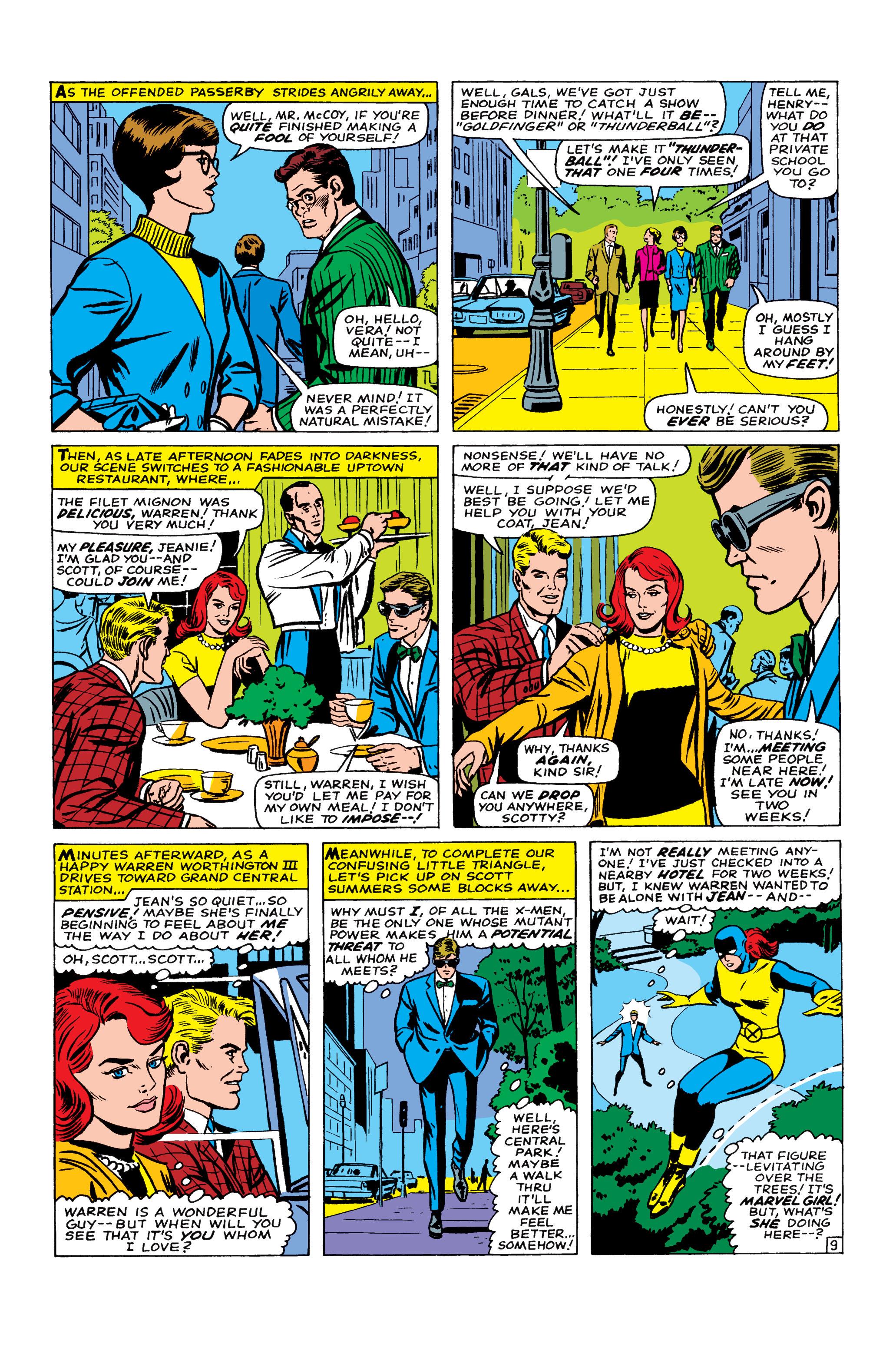 Read online Uncanny X-Men (1963) comic -  Issue #22 - 10