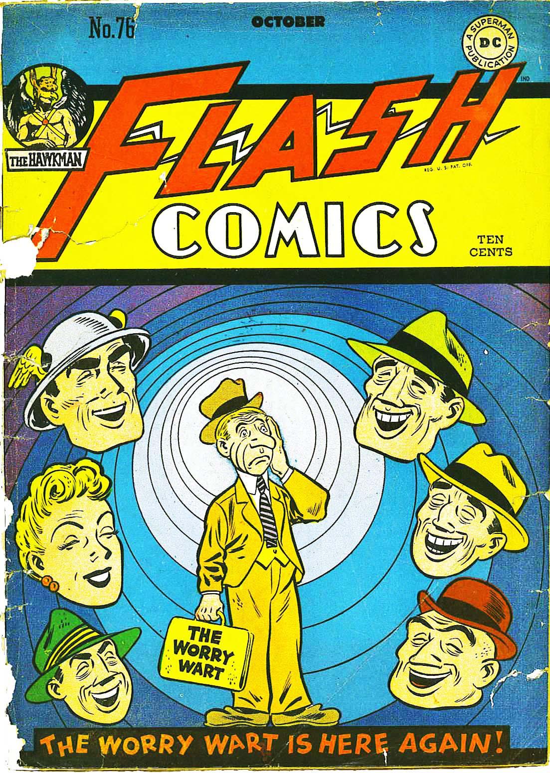Flash Comics 76 Page 1