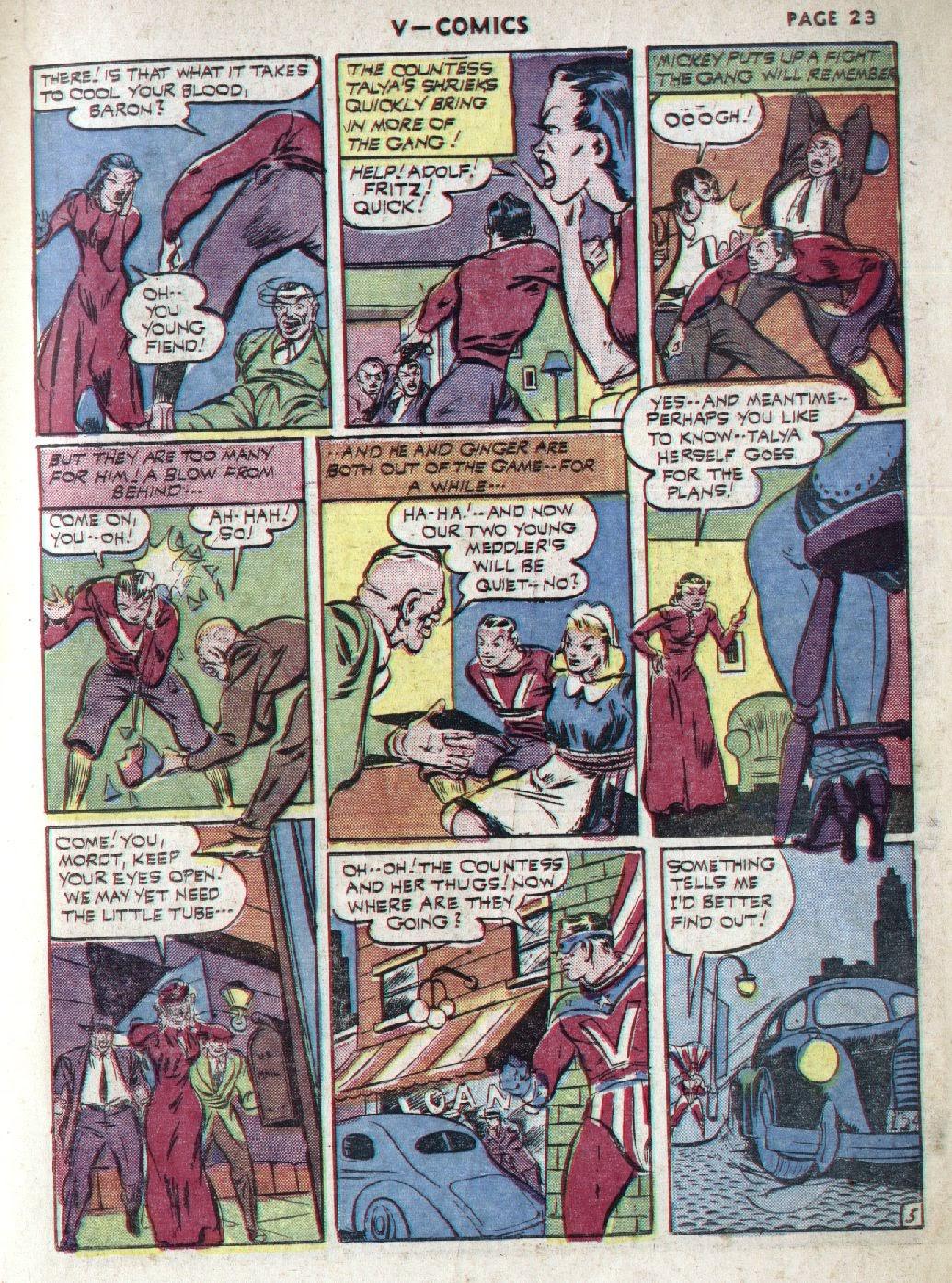 Read online V...- Comics comic -  Issue #1 - 25