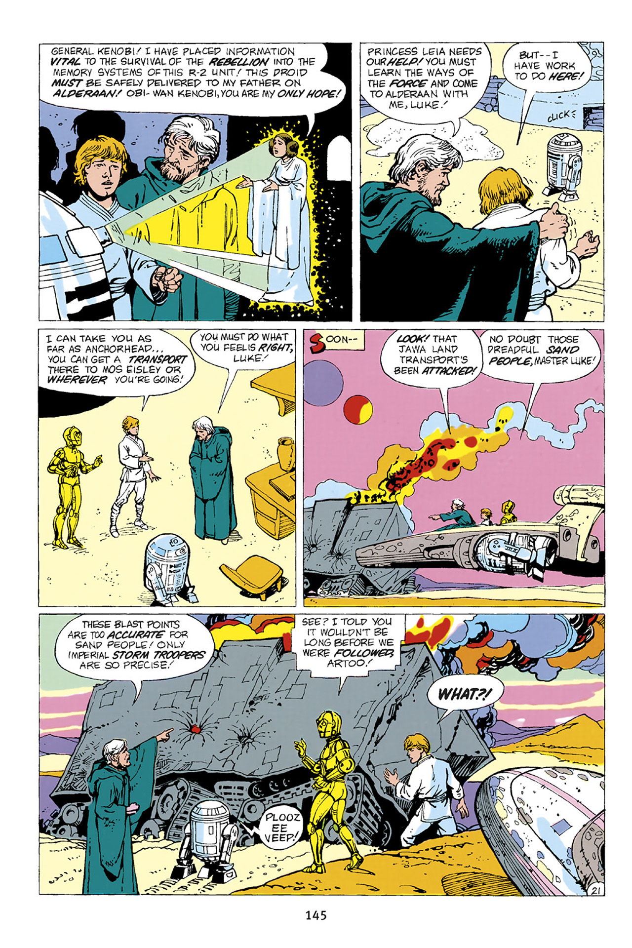 Read online Star Wars Omnibus comic -  Issue # Vol. 23 - 144