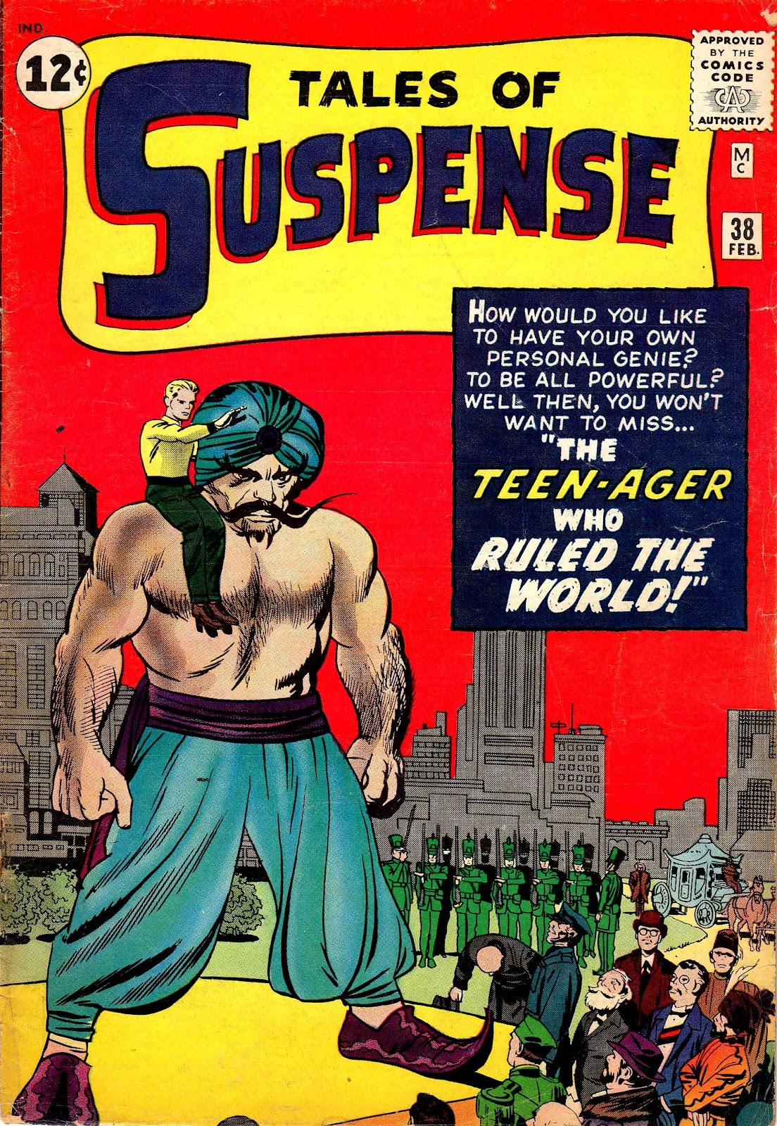 Tales of Suspense (1959) issue 38 - Page 1