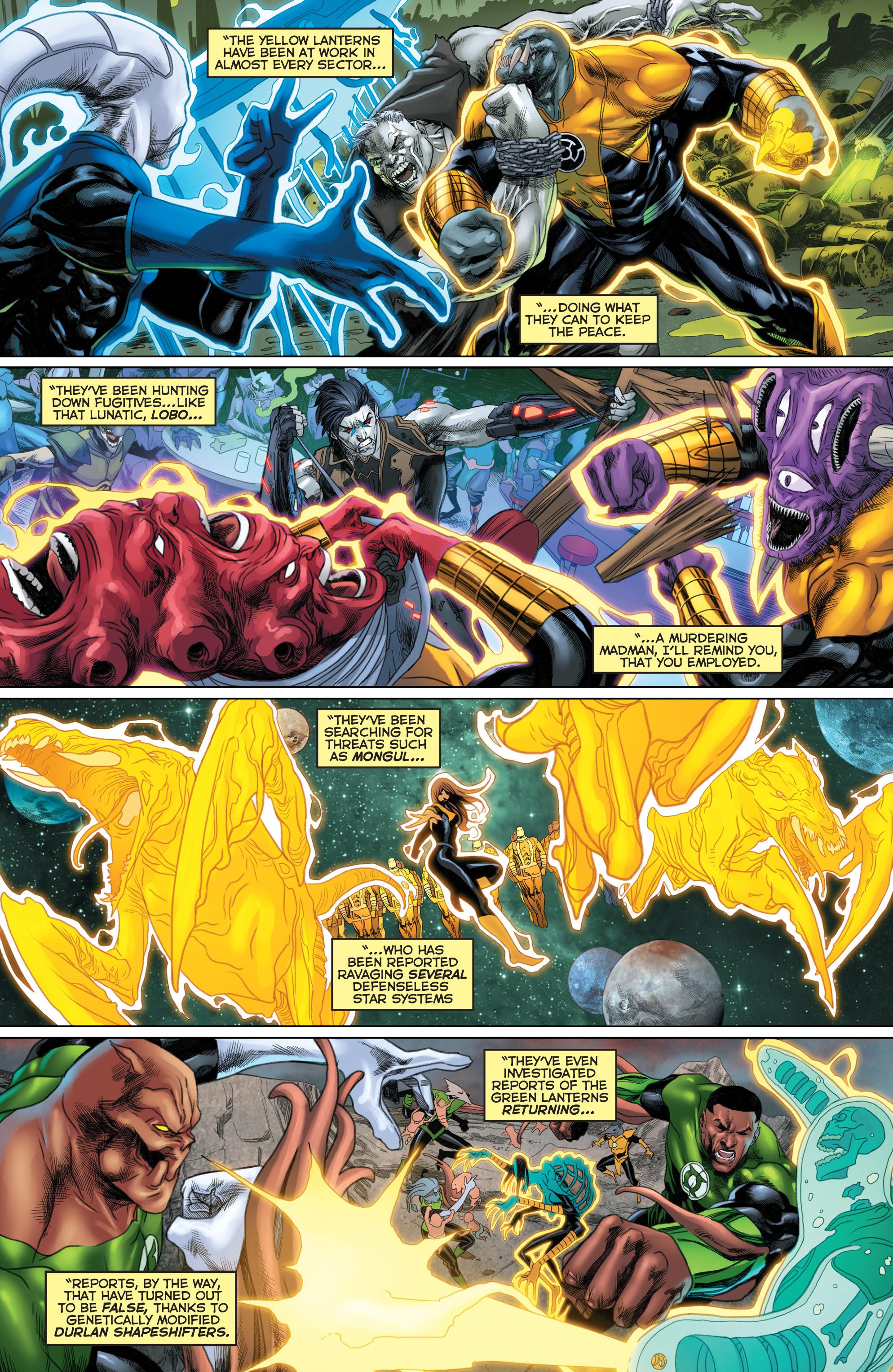 Read online Sinestro comic -  Issue #22 - 16