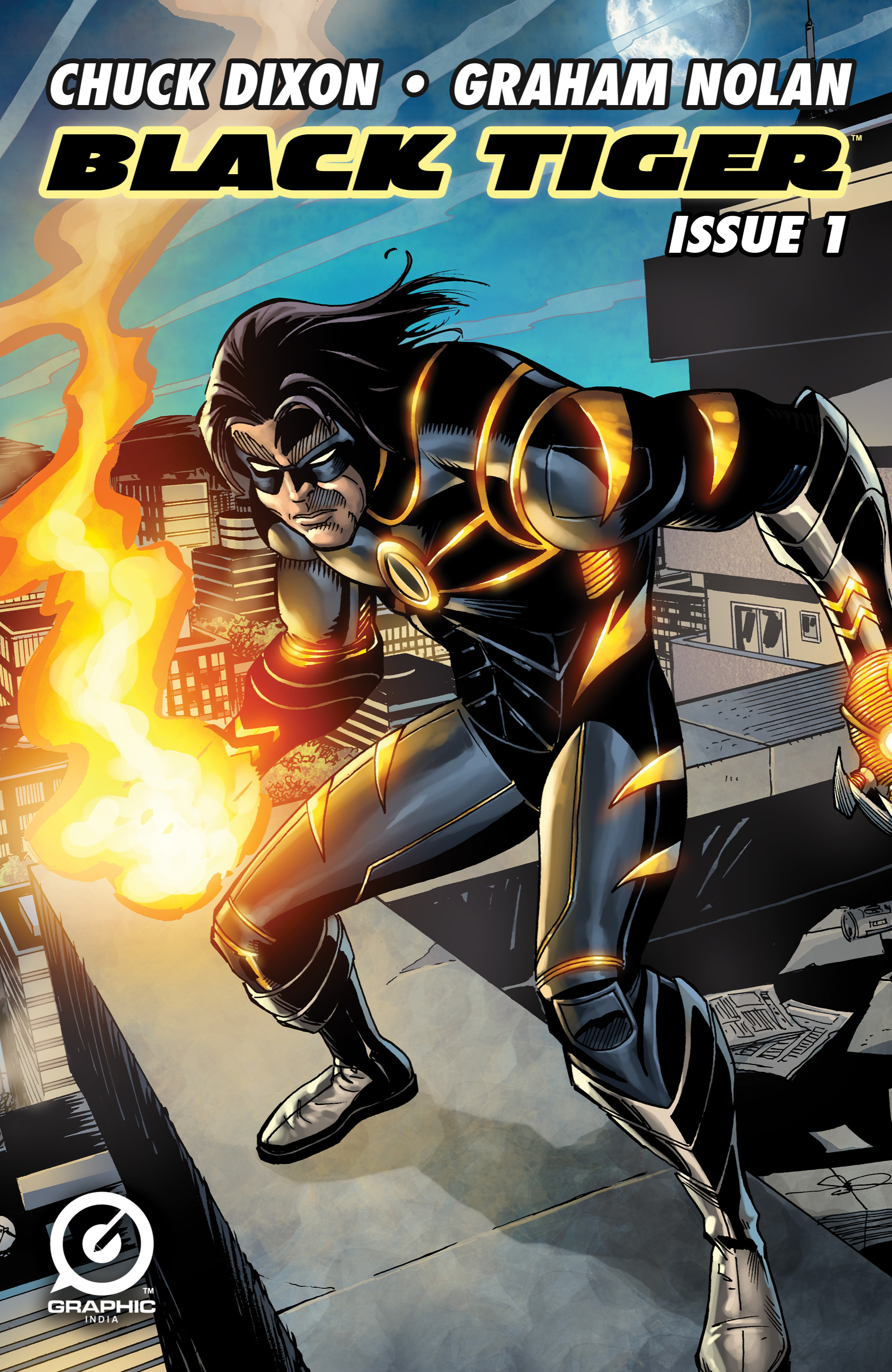 Read online Shadow Tiger comic -  Issue #1 - 1