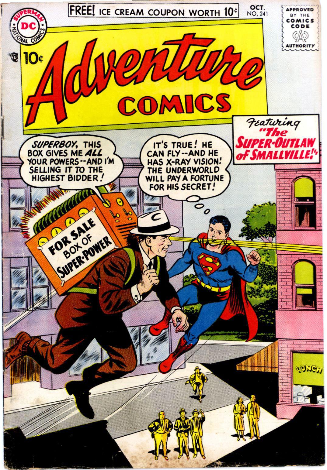 Read online Adventure Comics (1938) comic -  Issue #241 - 1