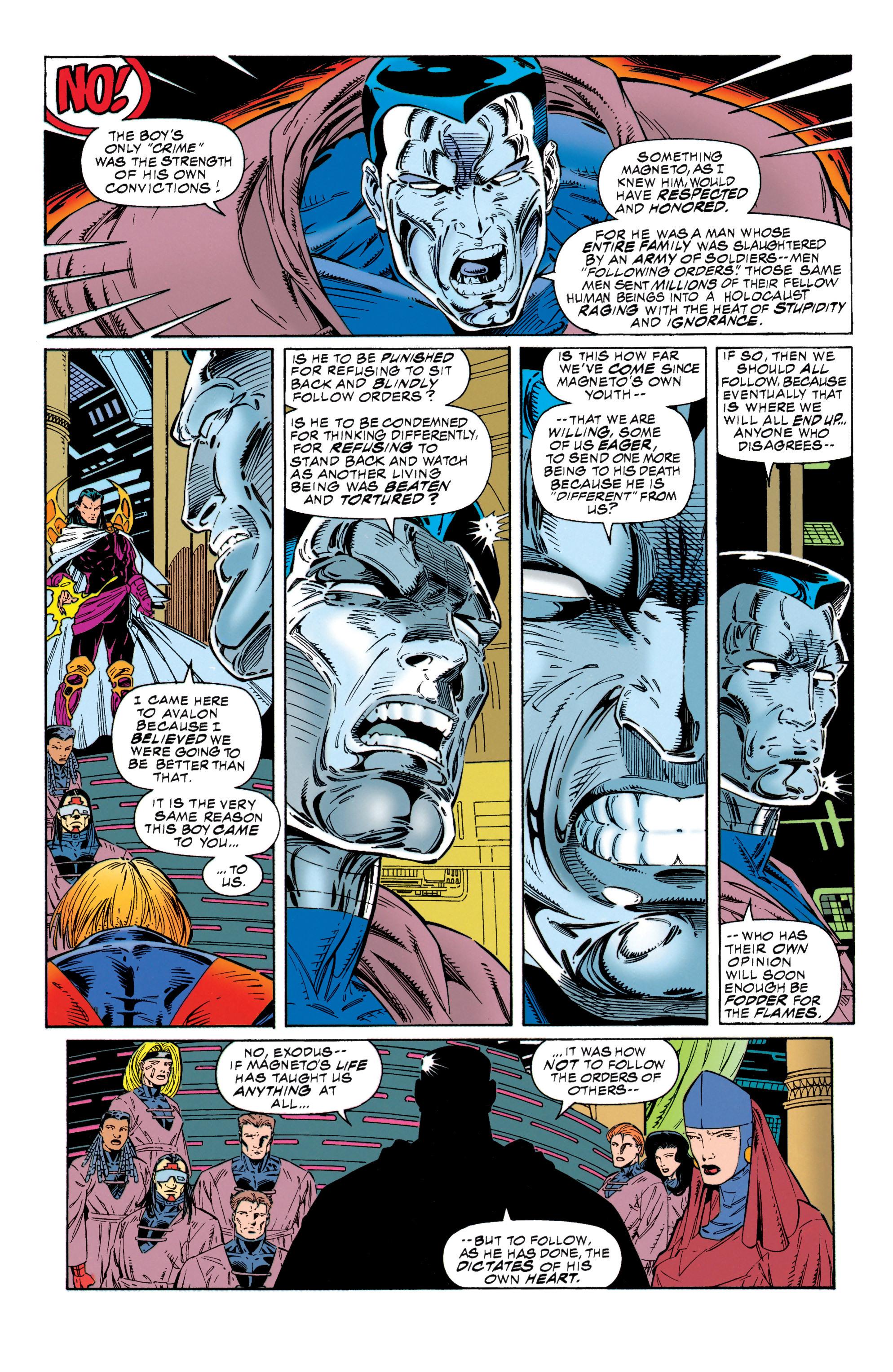 Read online Uncanny X-Men (1963) comic -  Issue #315 - 19