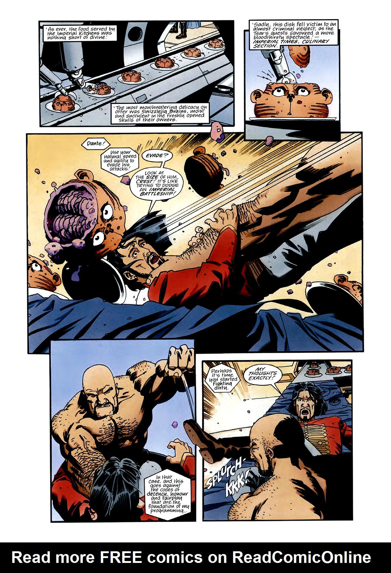 Read online Nikolai Dante comic -  Issue # TPB 3 - 11