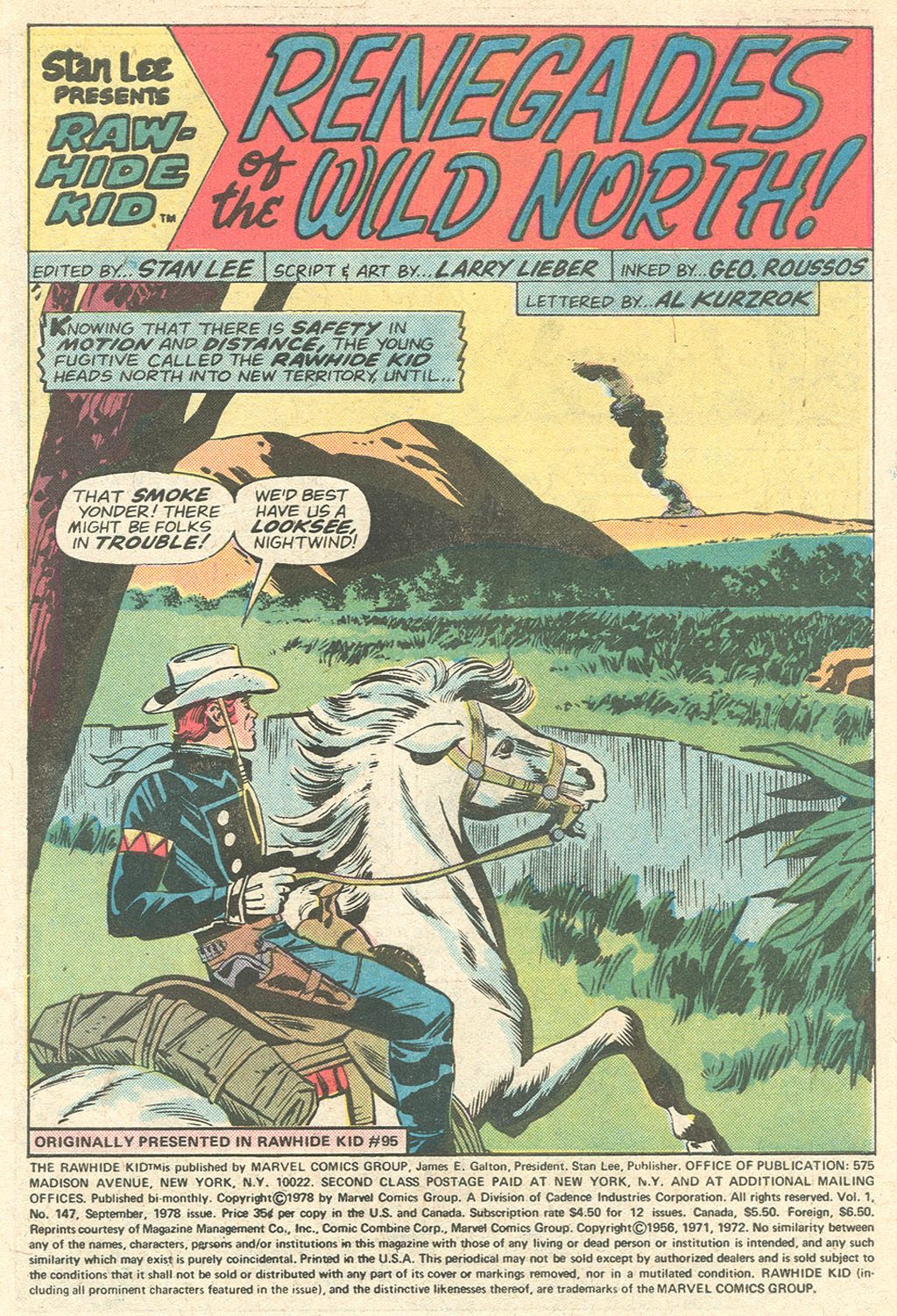 The Rawhide Kid (1955) issue 147 - Page 3