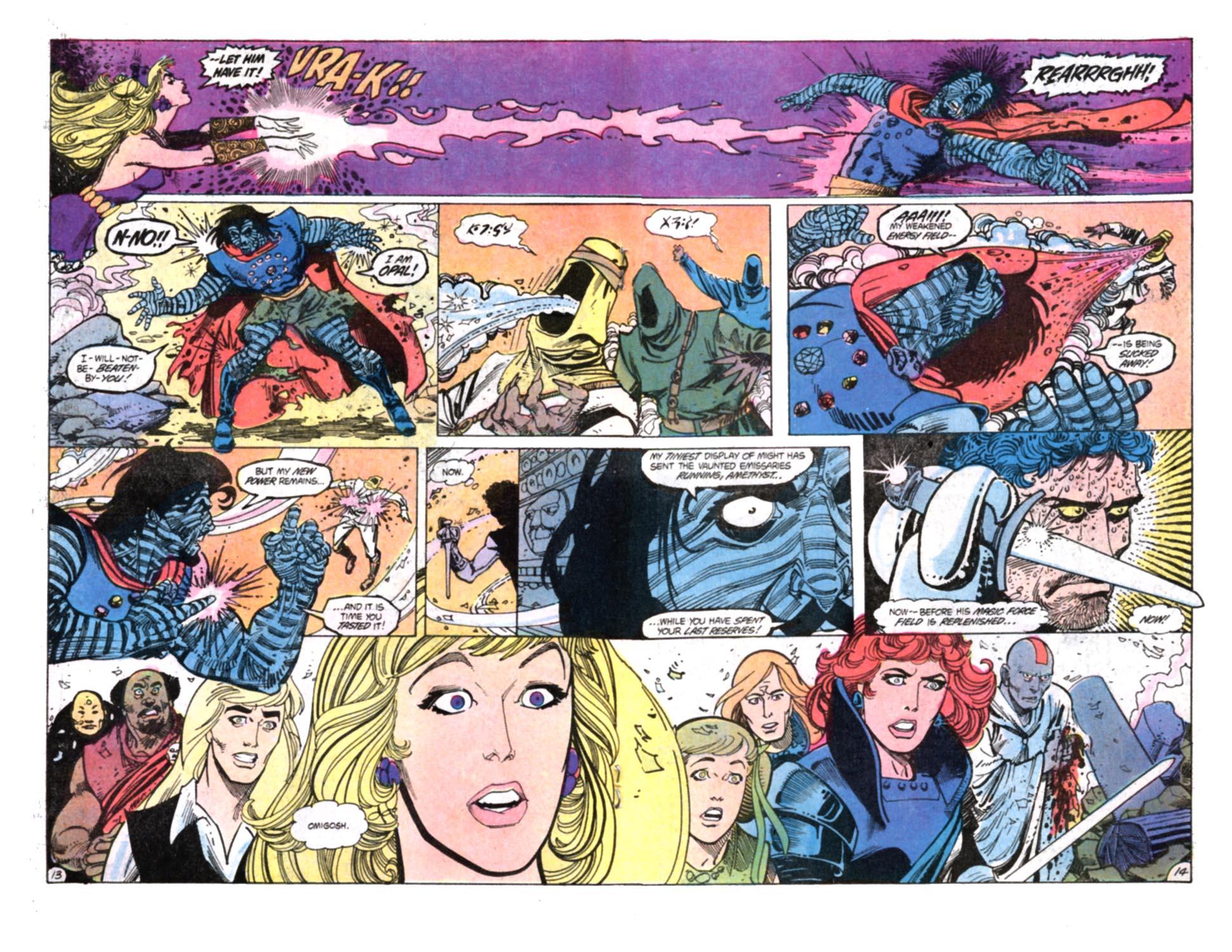 Read online Amethyst, Princess of Gemworld comic -  Issue #12 - 14