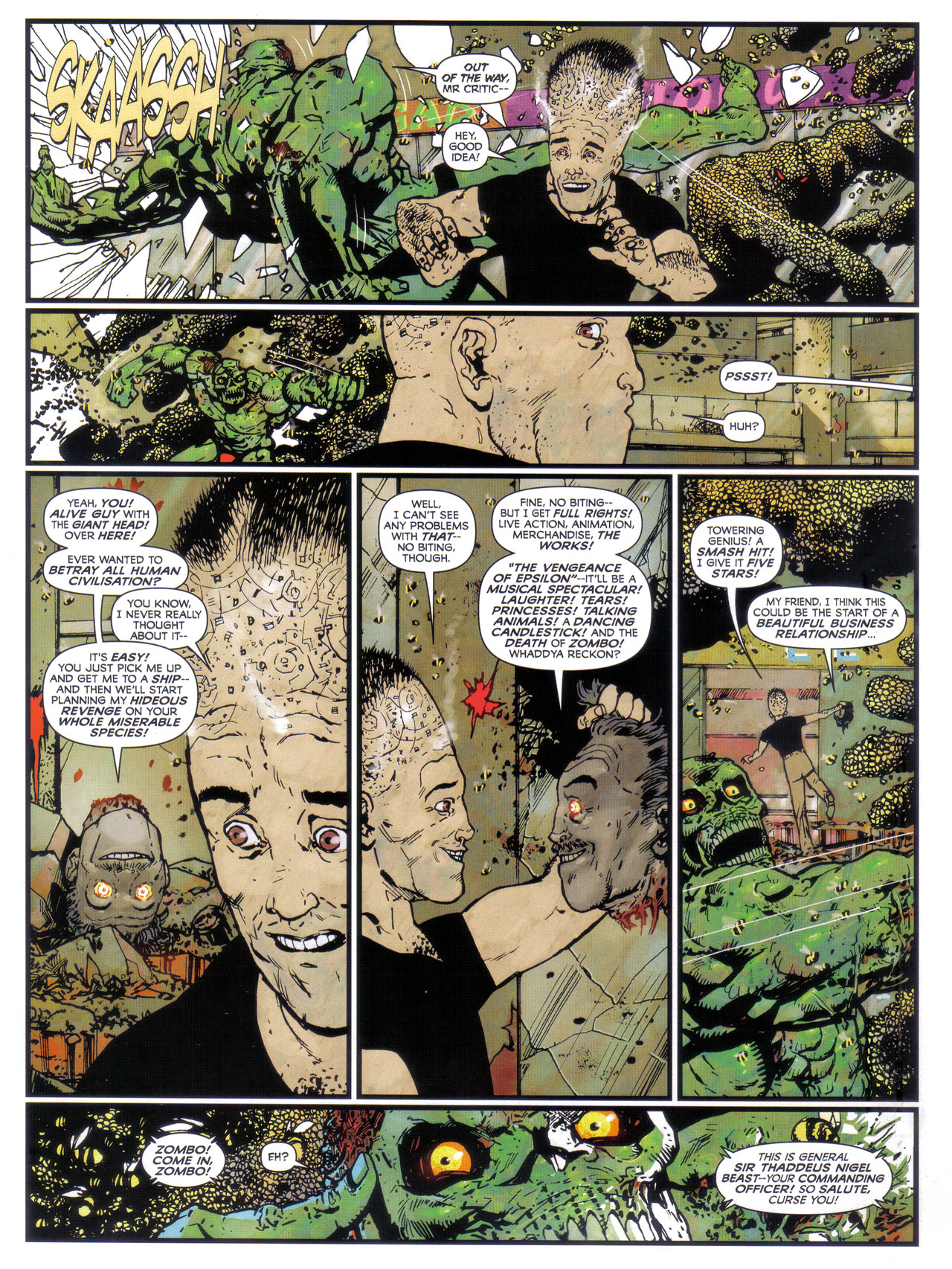 Read online 2000 AD comic -  Issue #1746 - 84