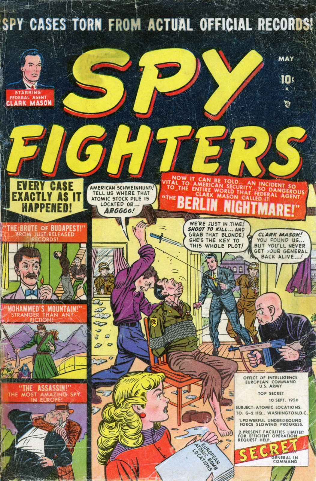 Spy Fighters 2 Page 1
