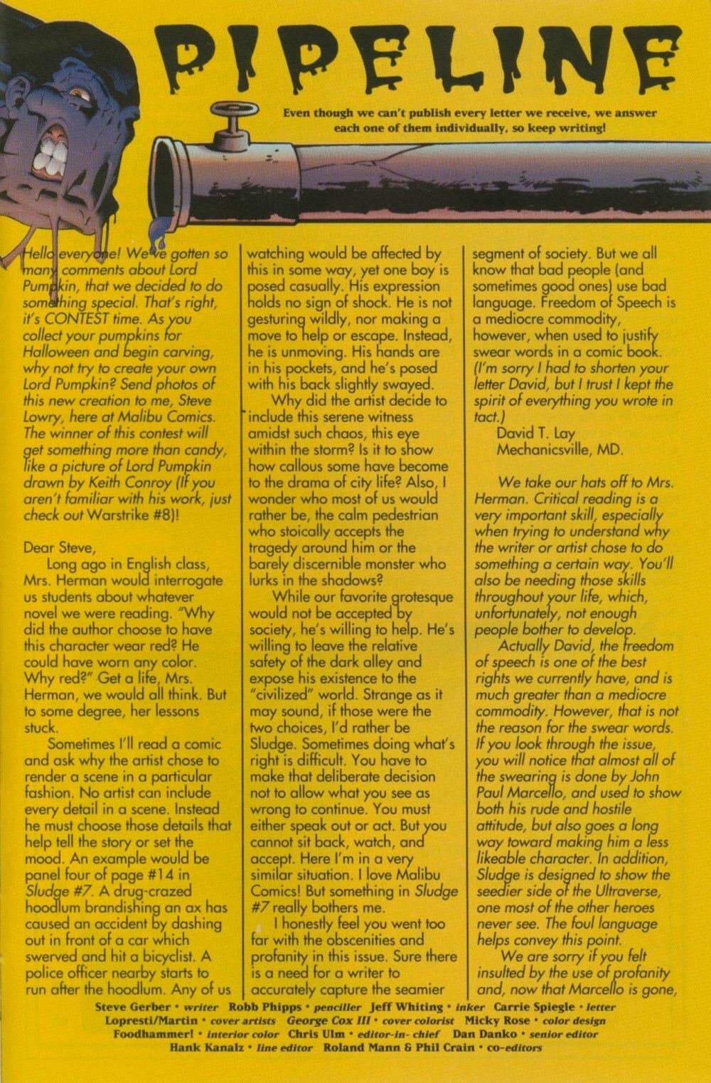 Read online Sludge comic -  Issue #10 - 28