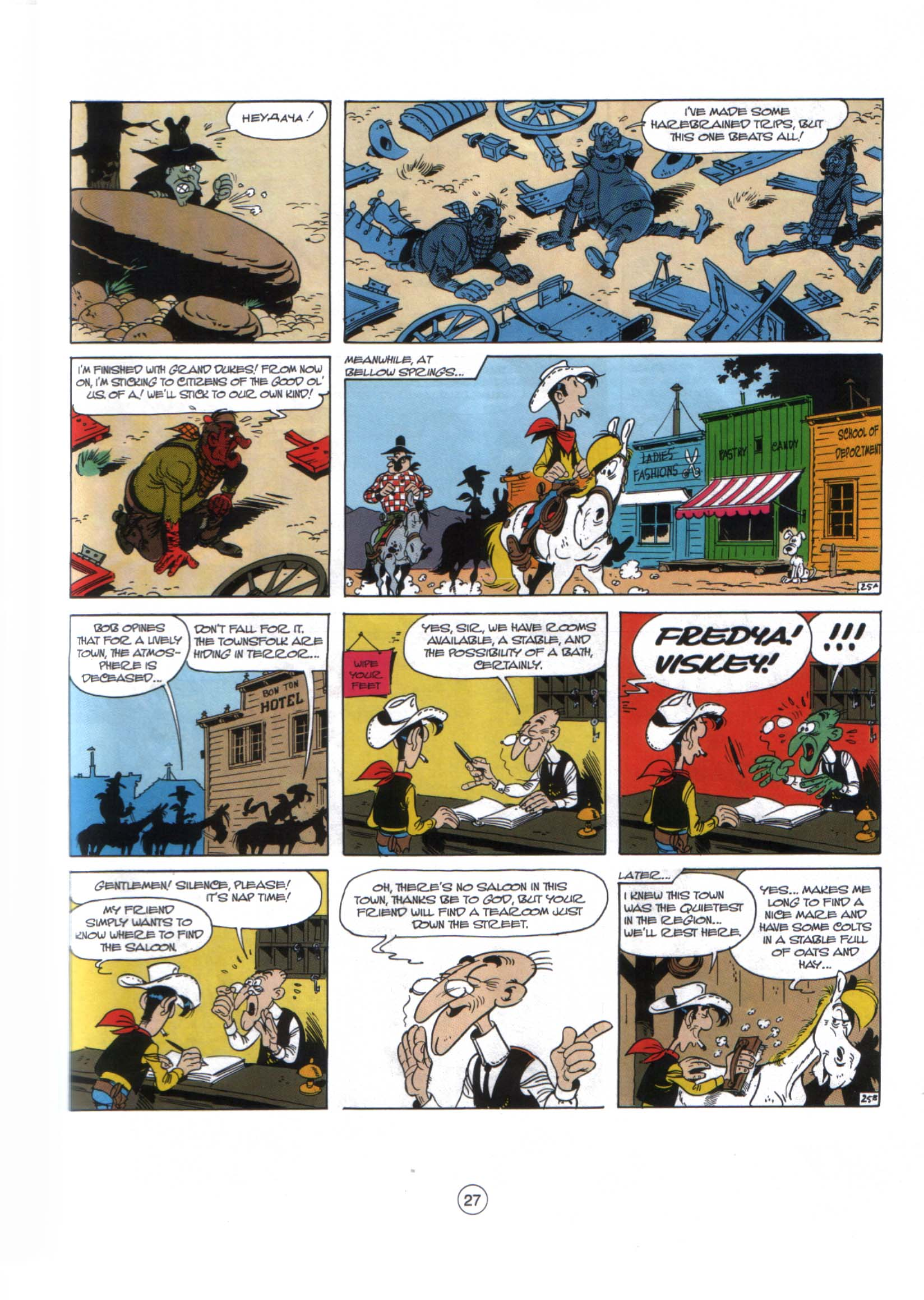 Read online A Lucky Luke Adventure comic -  Issue #29 - 26