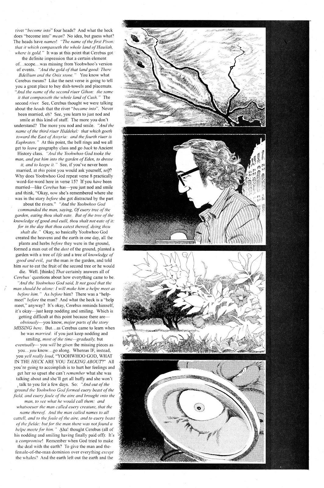 Cerebus Issue #281 #280 - English 8