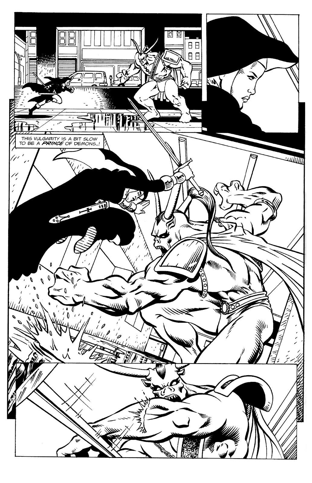 Warrior Nun Areala:  Dangerous Game Issue #1 #1 - English 19